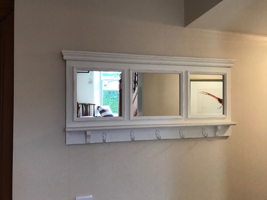 Most Popular Mirror With Hooks For Entryway Wall Drawers And Pub Coat Rack Full With Regard To Wall Mirror With Coat Hooks (View 4 of 20)