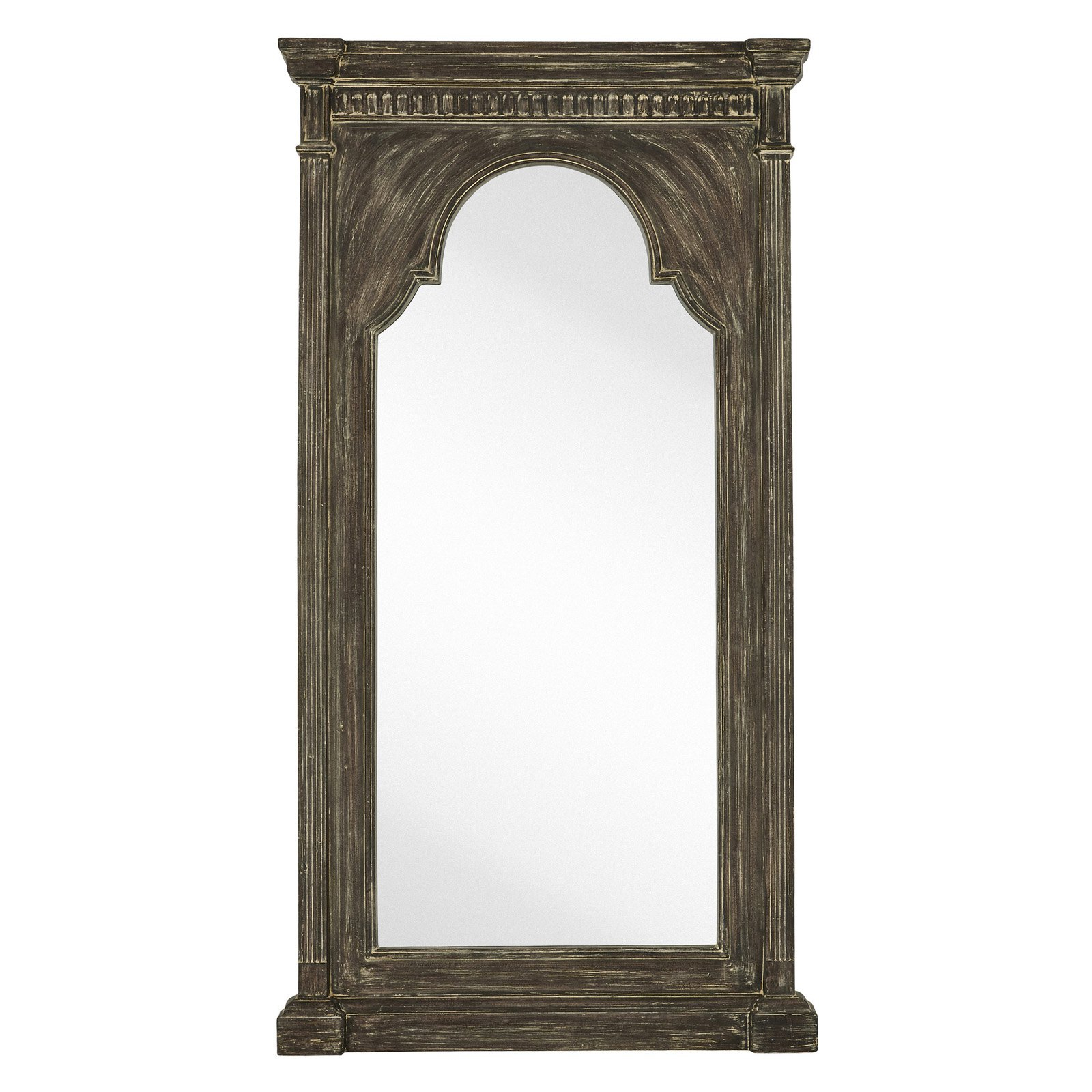 Most Popular Narrow Wall Mirrors With Regard To Majestic Oversized Tall Narrow Wall Mirror (View 17 of 20)