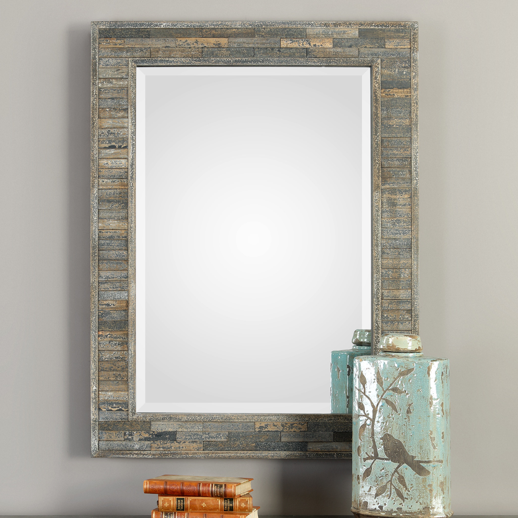 Most Popular Ohalloran Accent Mirror Intended For Glynis Wild West Accent Mirrors (View 6 of 20)