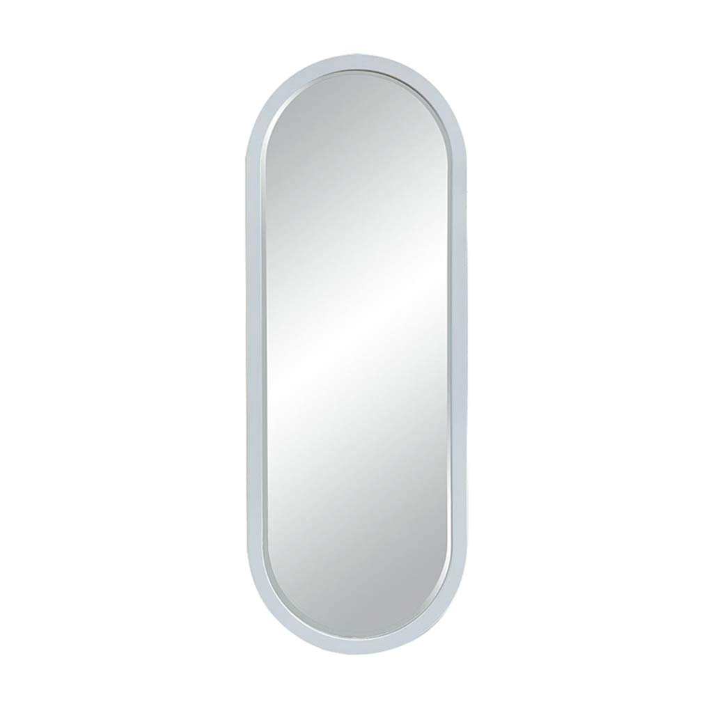 Most Popular Oval Full Length Wall Mirrors With Regard To Amazon: Family History Oval Wooden Full Length Mirror Clothing (View 4 of 20)