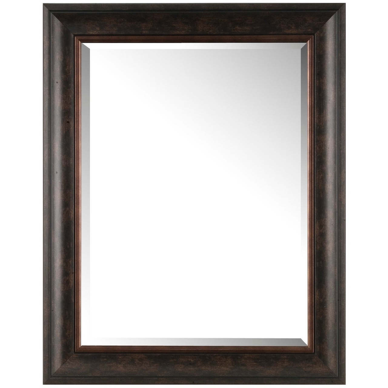 Most Popular Plastic Wall Mirrors For Brown Bronze Finish, Rectangular Plastic Wall Mirrormirrorize Canada (View 11 of 20)