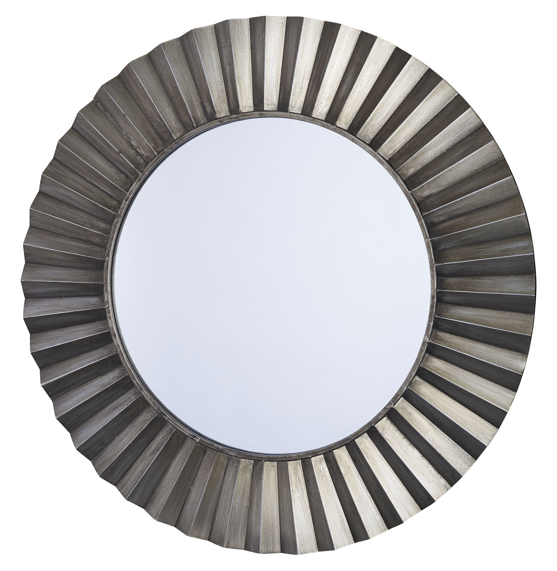 Most Popular Point Reyes Molten Round Wall Mirrors With Sunburst Round Wall Mirror (View 11 of 20)