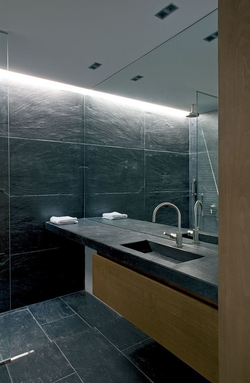 Most Popular Vanity Wall Mirrors For Bathroom With Regard To Bathroom Mirror Ideas – Fill The Whole Wall (View 5 of 20)