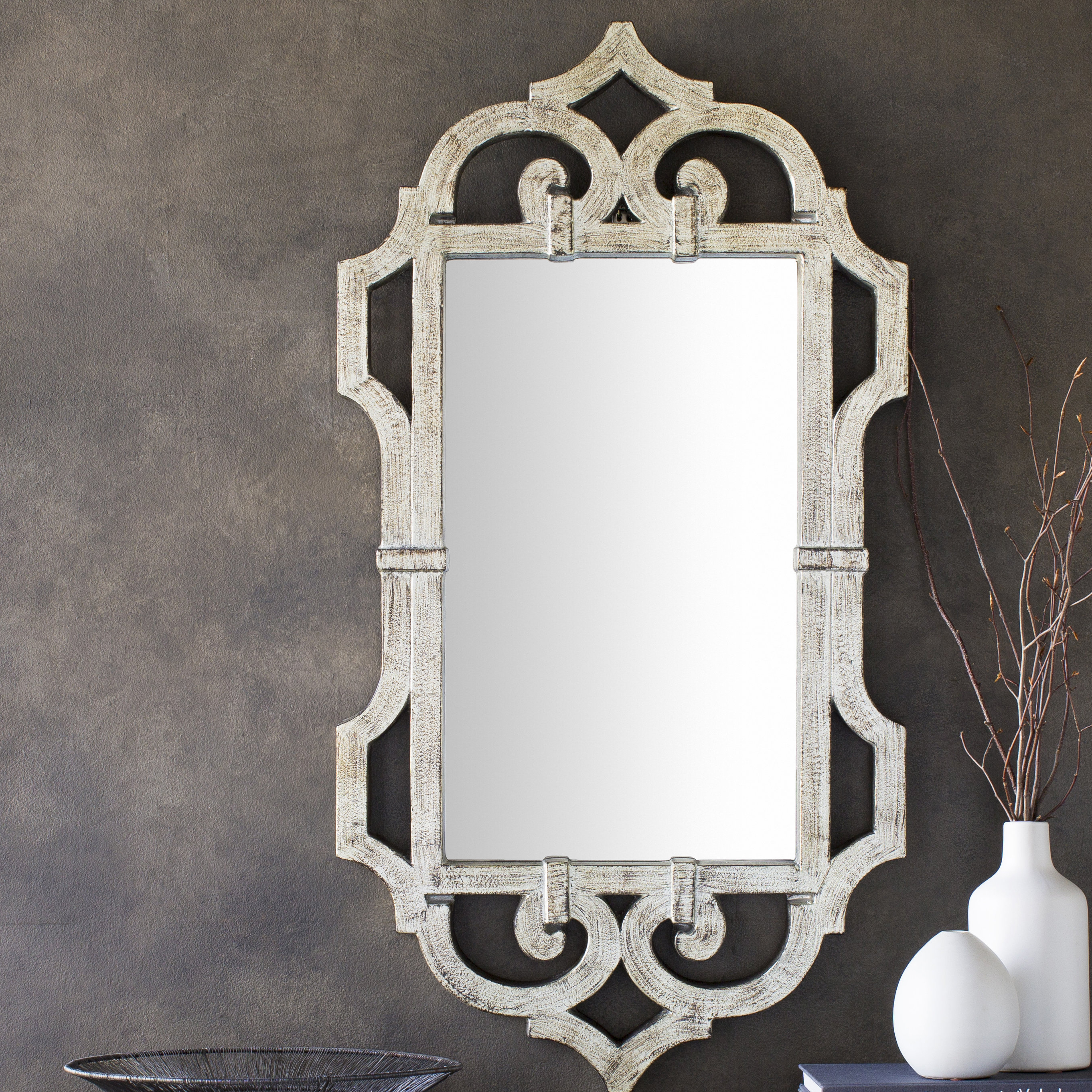 Most Popular Wall Mirror Pertaining To Gingerich Resin Modern & Contemporary Accent Mirrors (View 16 of 20)
