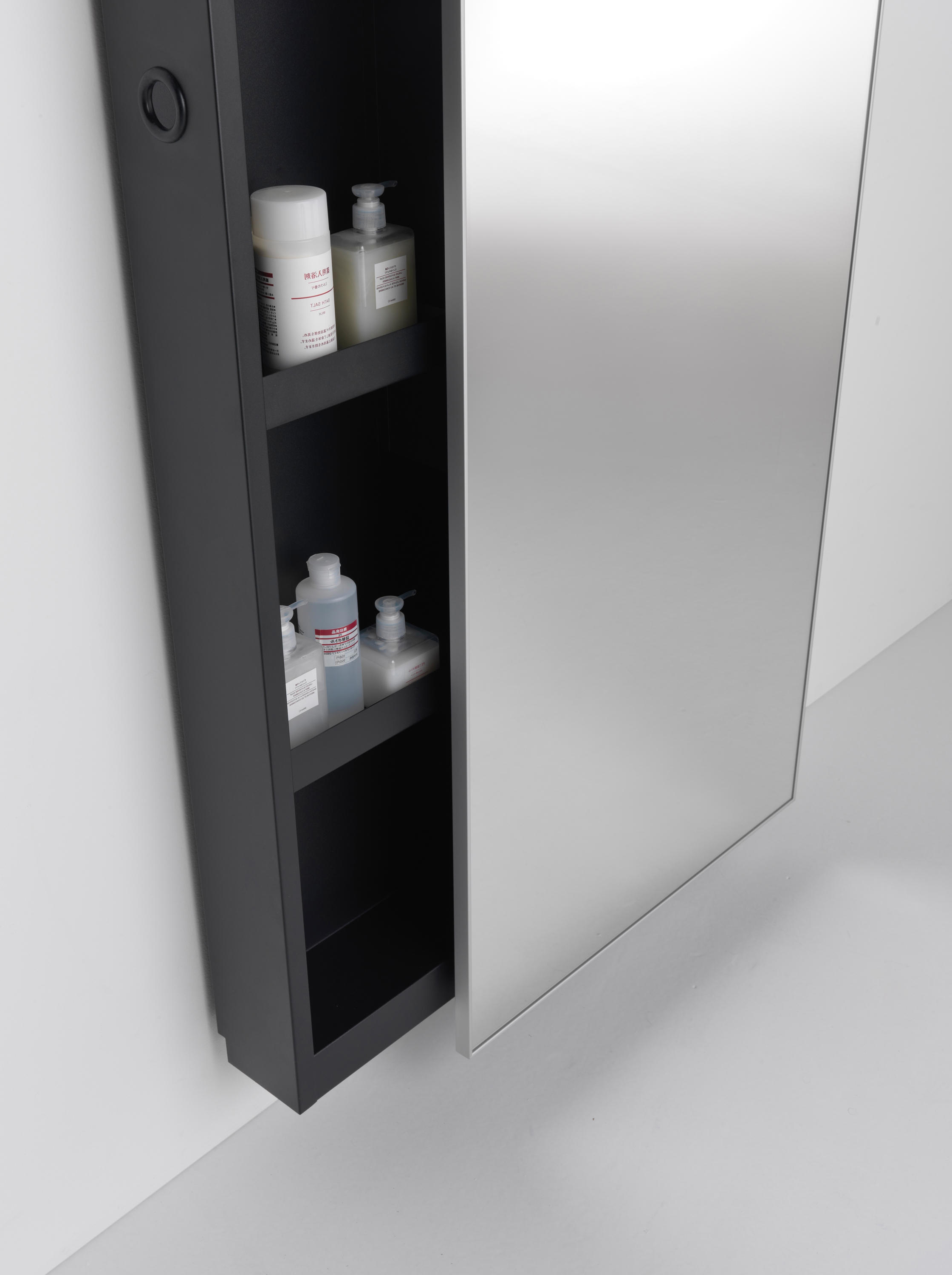 Most Popular Wall Mirrors With Storages Intended For Wall Mirror With Storage And Ute Minimal Backstage – Mirror Cabinets (View 9 of 20)