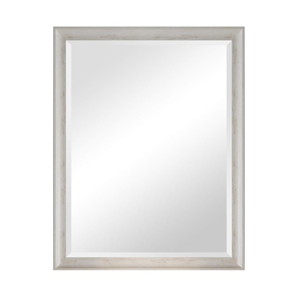 Most Popular White Shabby Chic Wall Mirrors Throughout Amazon: Yxsd Vintage Mirror Solid Wood – Shabby Chic (View 15 of 20)