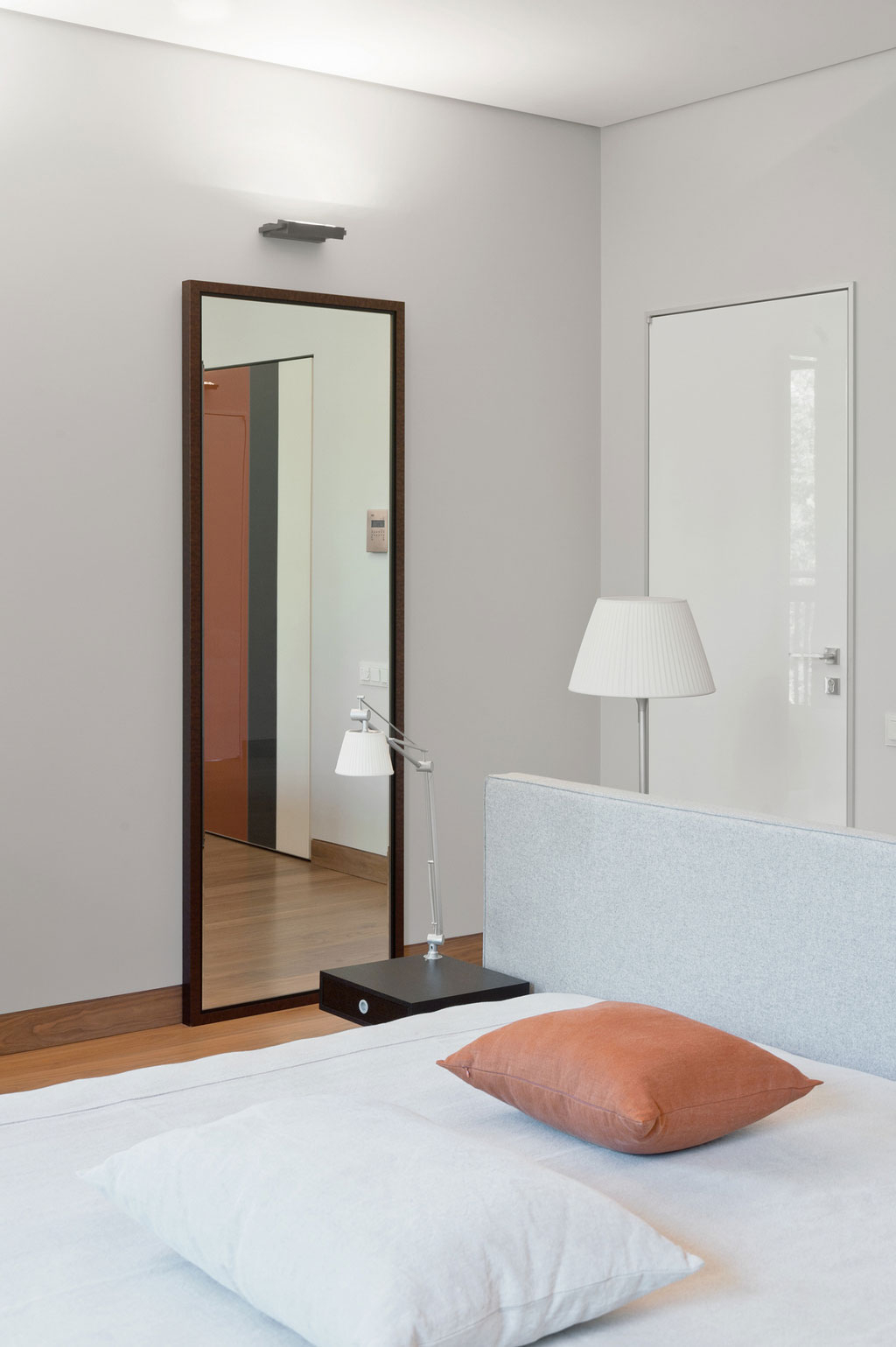 Most Recent Bedroom Wall Mirrors Within Bedroom Wall Mirror Long Mirrors Closet Doors For Bedrooms Romantic (View 10 of 20)