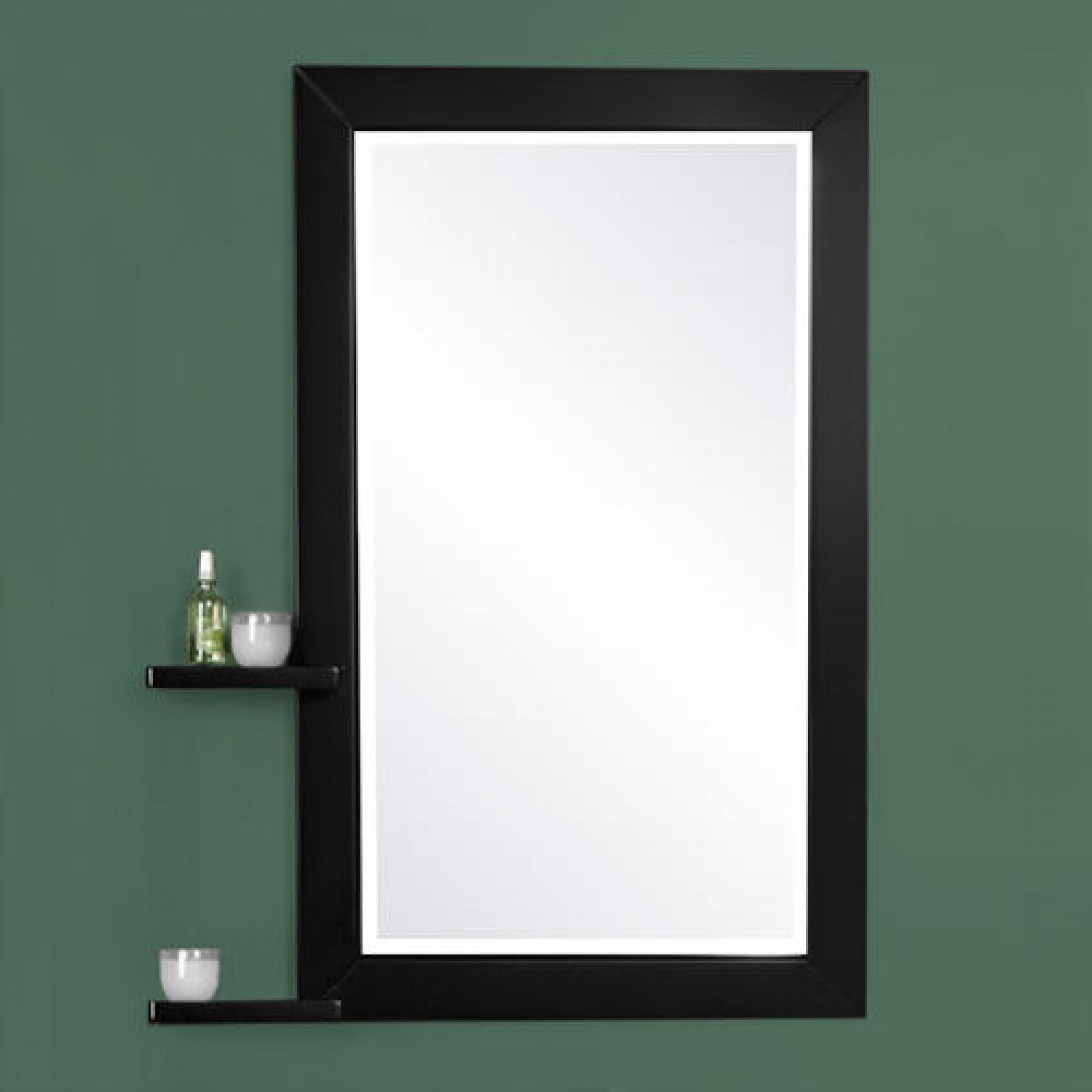 Most Recent Black Framed Wall Mirrors In Top 33 Fab Bathroom Wall Mirrors Mirror With Led Lights Contemporary (View 17 of 20)