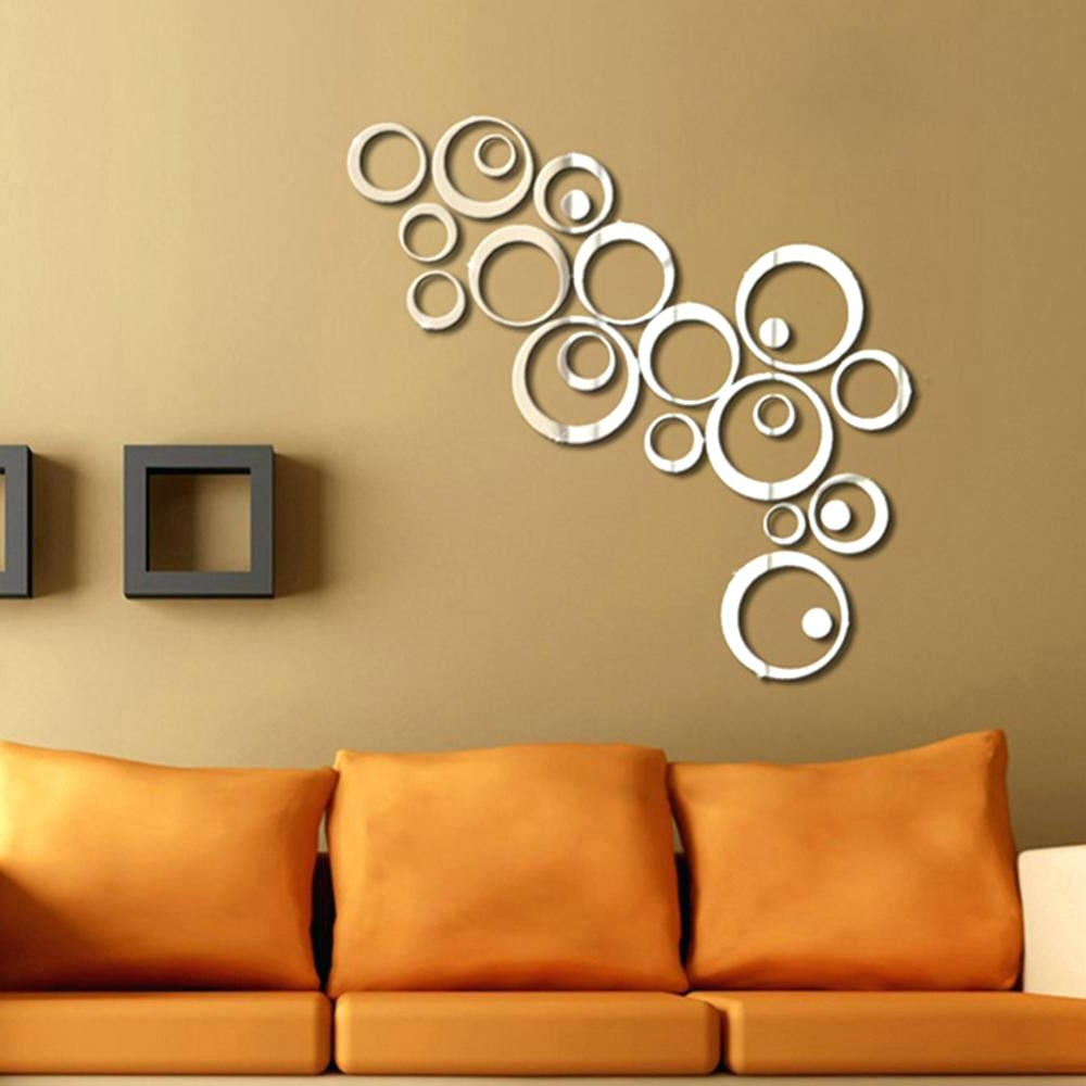 Most Recent Circle Wall Mirror Decals • Bathroom Mirrors And Wall Mirrors Regarding Wall Mirror Decals (View 18 of 20)