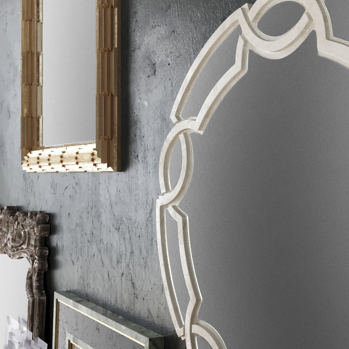 Most Recent Cool Wall Mirrors Intended For Ideas: Setting Your Interior With Cool Horchow Mirrors Design Ideas (View 10 of 20)