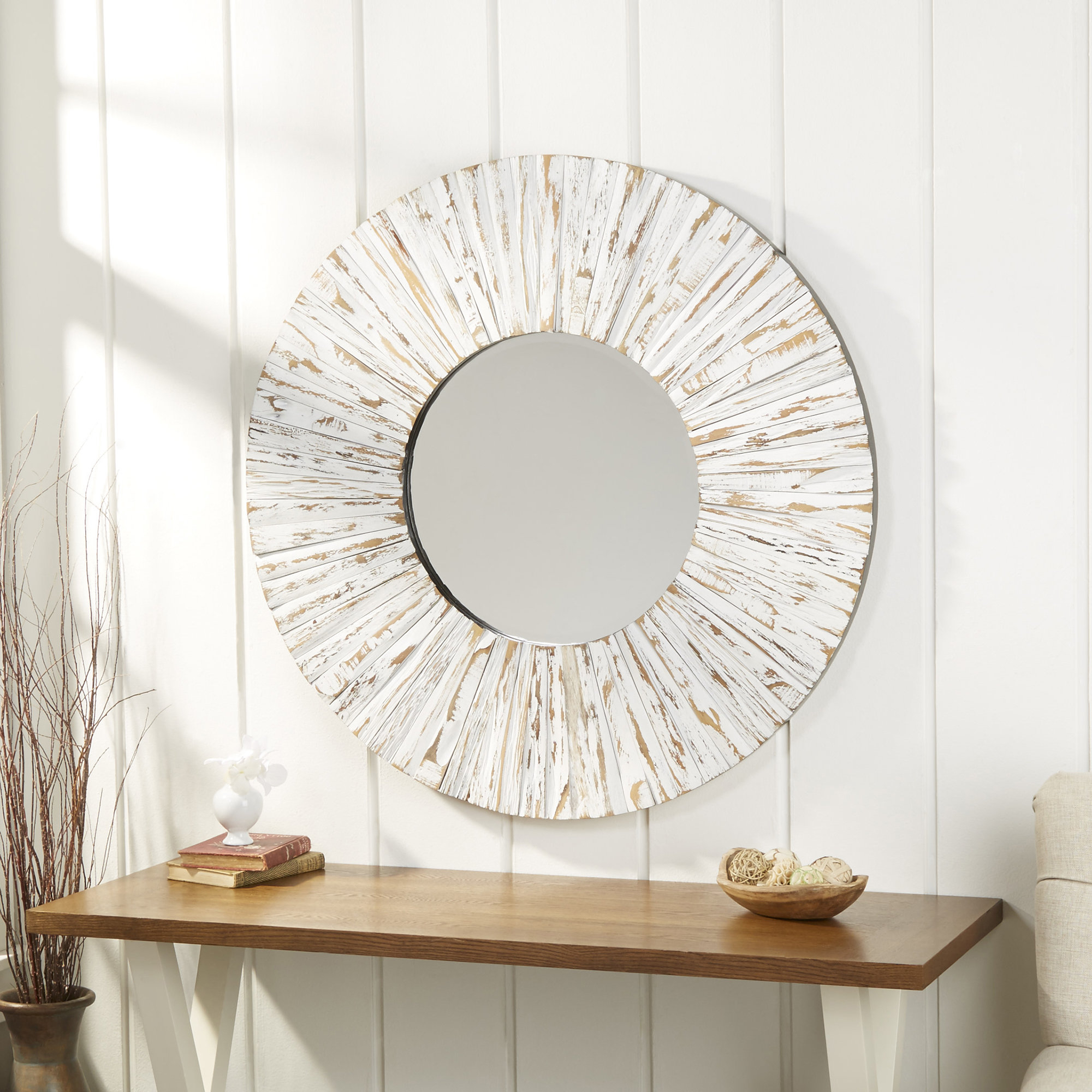 Most Recent Cromartie Tree Branch Wall Mirrors In Bellflower Accent Mirror (Gallery 20 of 20)