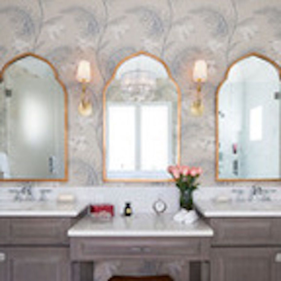 Most Recent Details About Gold Arched Moroccan Wall Mirror Bathroom Arch Vanity Intended For Gold Arch Wall Mirrors (View 11 of 20)