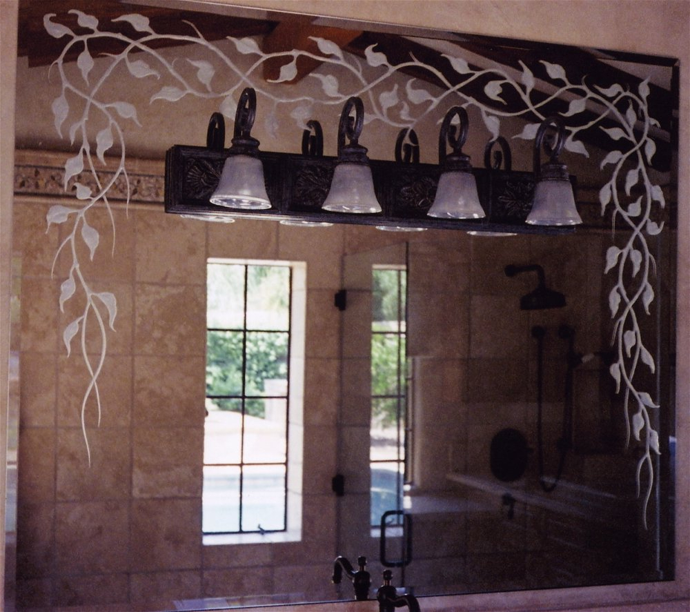 Most Recent Etched Wall Mirrors With Regard To Decorative Etched & Carved Mirrors & Mirror Frames – Sans Soucie Art (View 13 of 20)