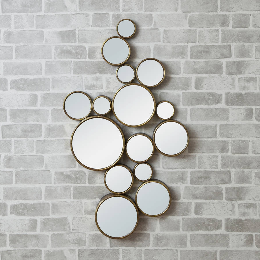 Most Recent 'funky' Circles Mirror Within Funky Wall Mirrors (View 13 of 20)