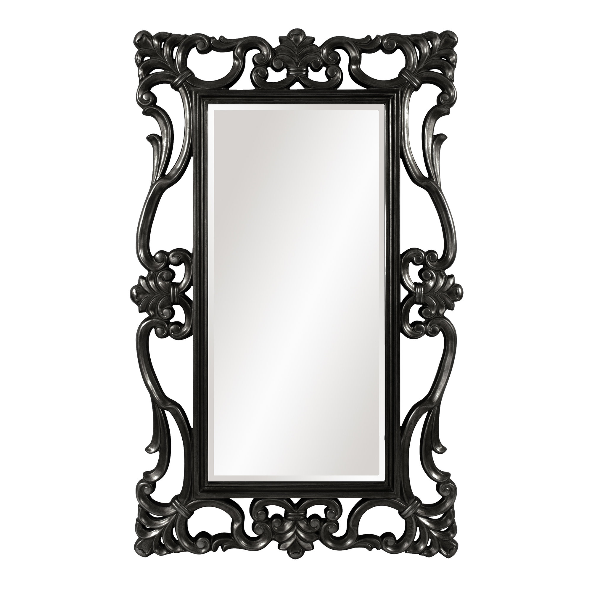 Most Recent Large Rectangular Wall Mirror Throughout Black Rectangle Wall Mirrors (View 19 of 20)
