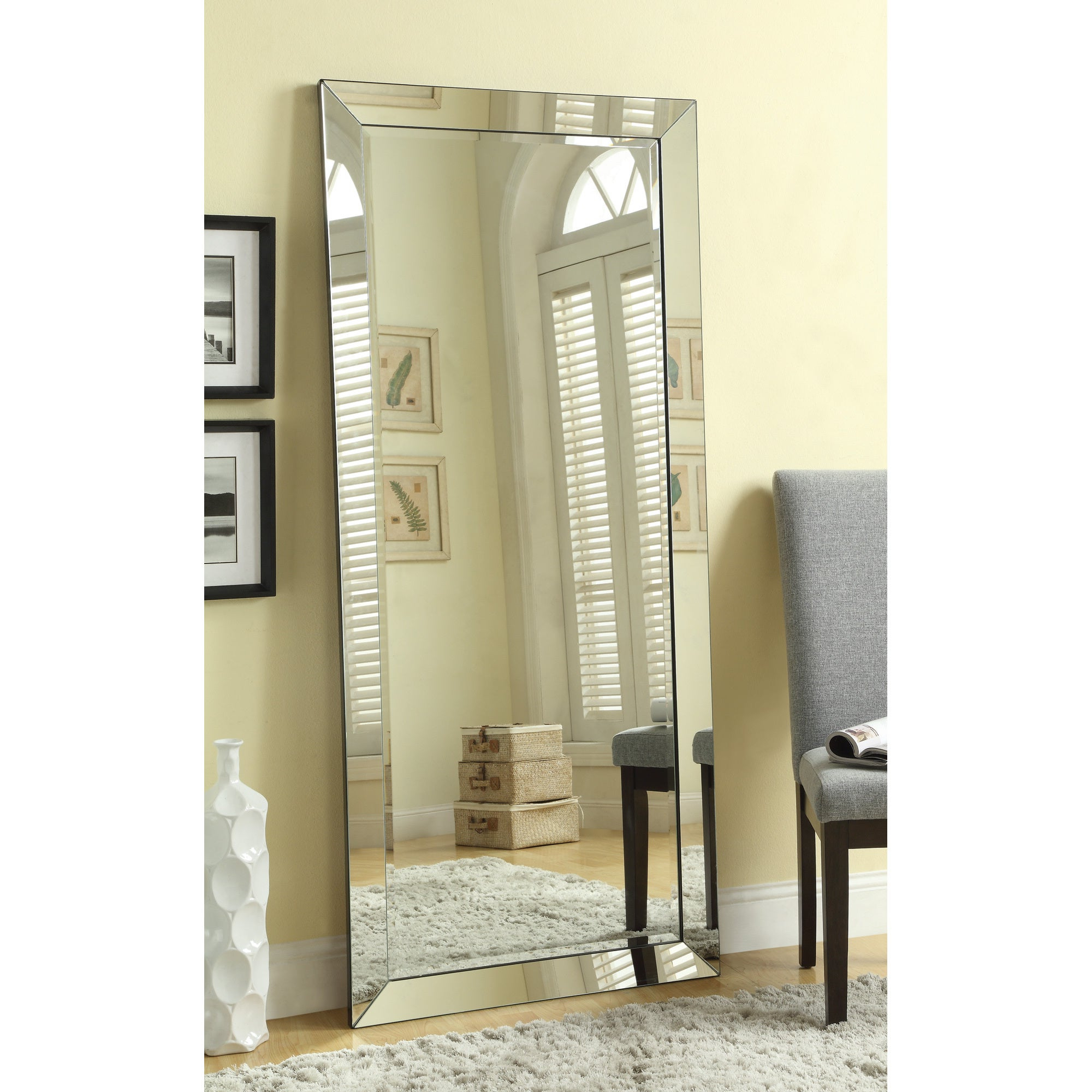 "Most Recent Large Standing Wall Mirror With Mirror Frame – 30"" X (View 3 of 20)"