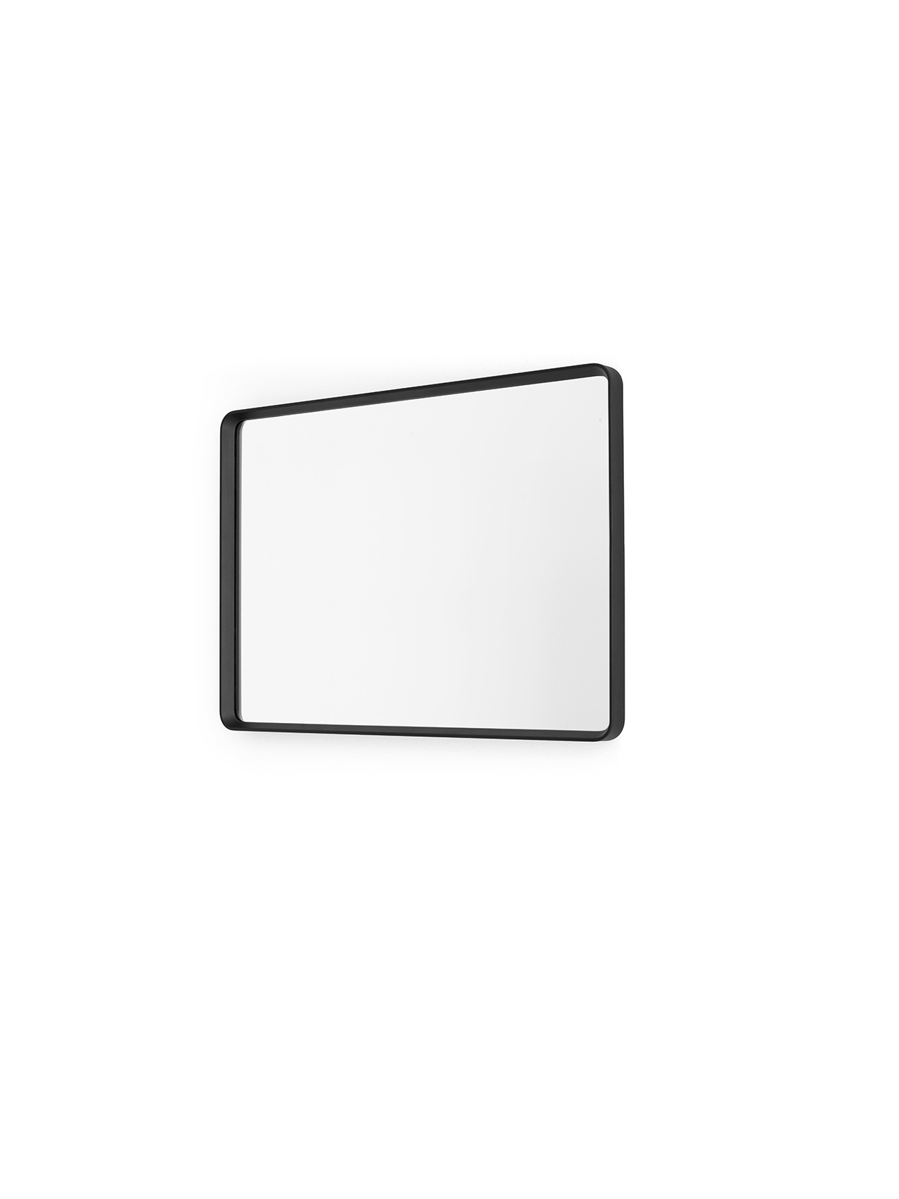 Most Recent Norm Wall Mirror, Rectangular, Black For Large Rectangular Wall Mirrors (View 2 of 20)