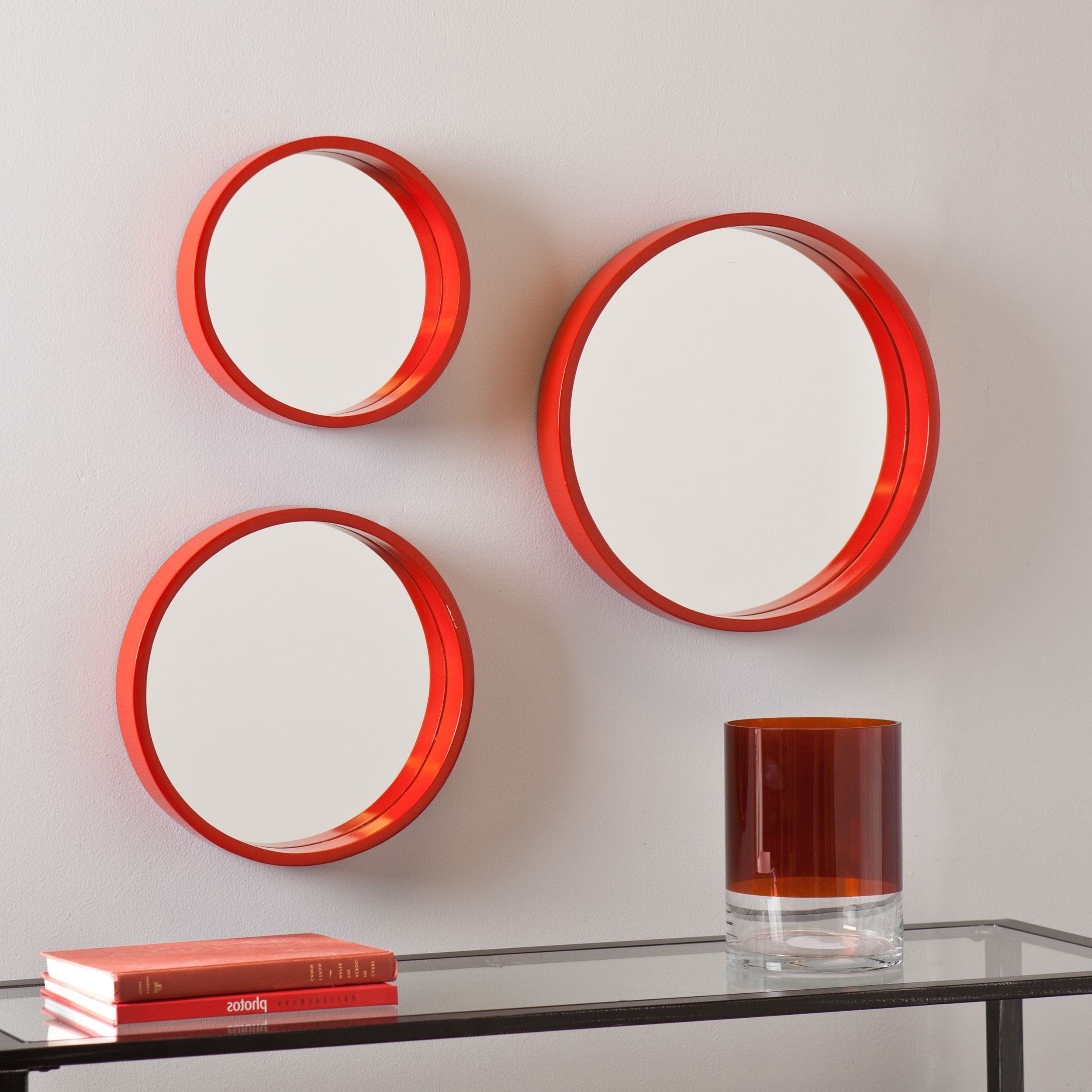 Featured Photo of Red Wall Mirrors
