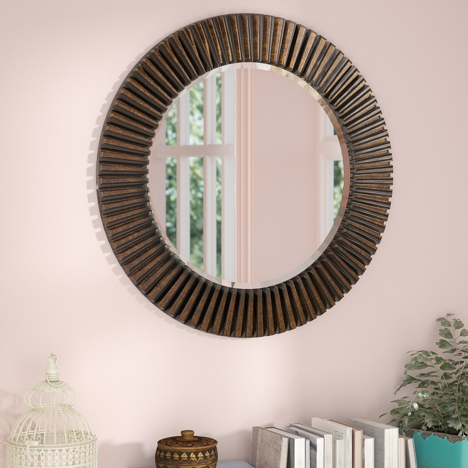 Most Recent Round Eclectic Accent Mirror Within Bracelet Traditional Accent Mirrors (View 6 of 20)
