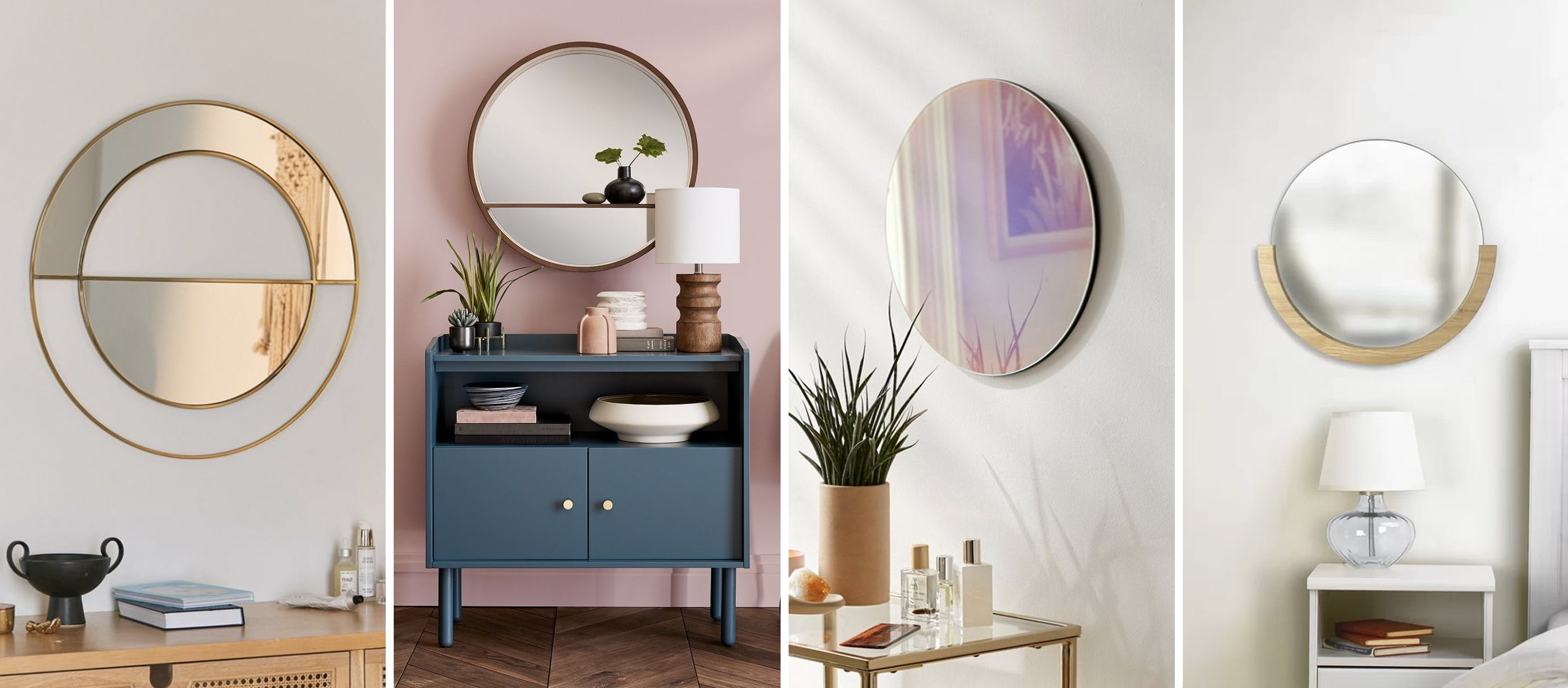 Most Recent Round Mirrors For Wall Decor In The Home (View 14 of 20)