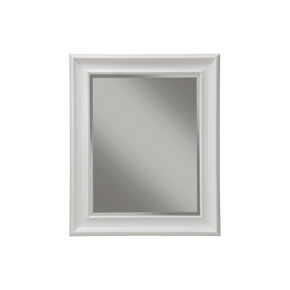 Most Recent Sandberg Furniture White Decorative Wall Mirror 13017 – The Inside White Decorative Wall Mirrors (View 12 of 20)