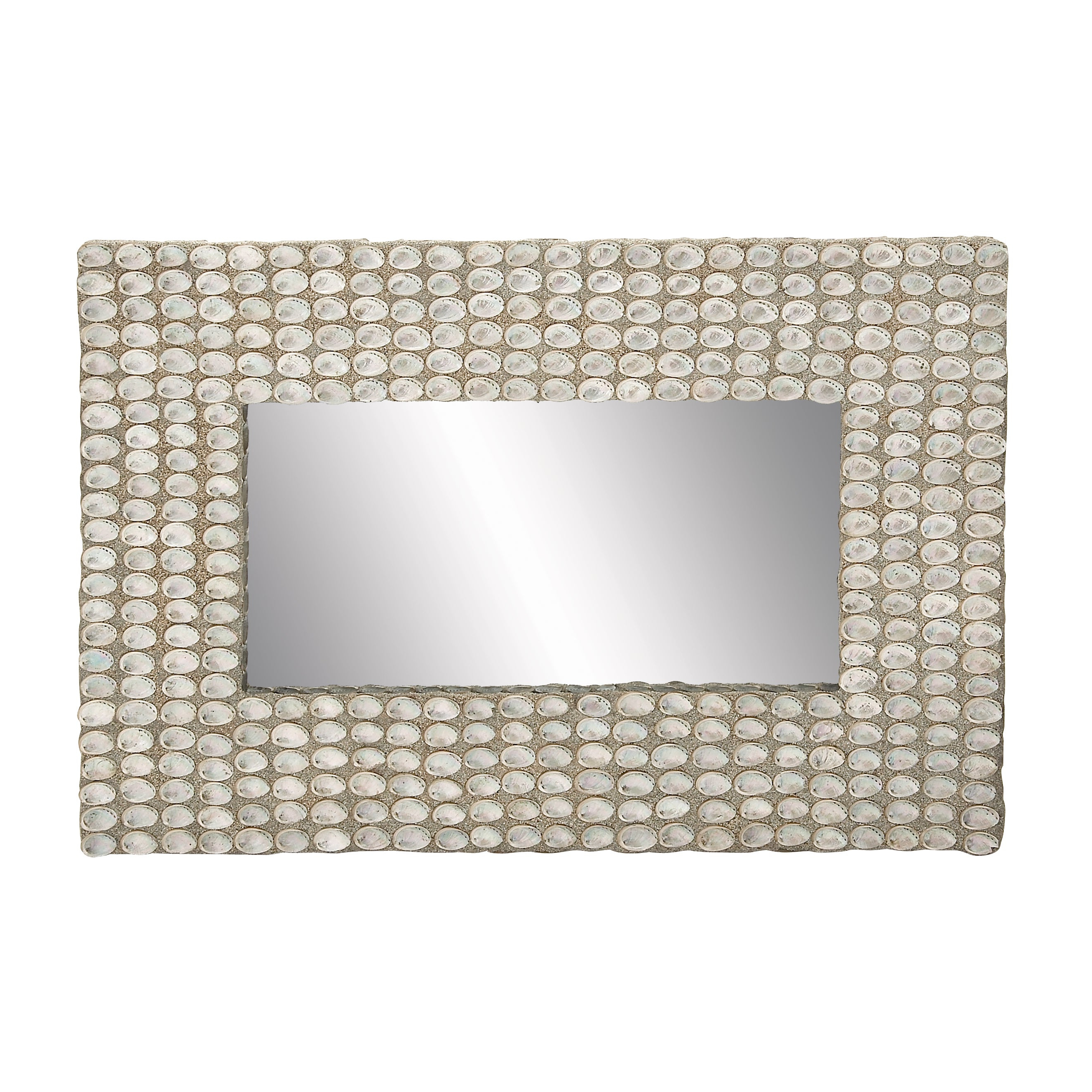 Most Recent Seashell Wall Mirror With Seashell Wall Mirrors (View 8 of 20)
