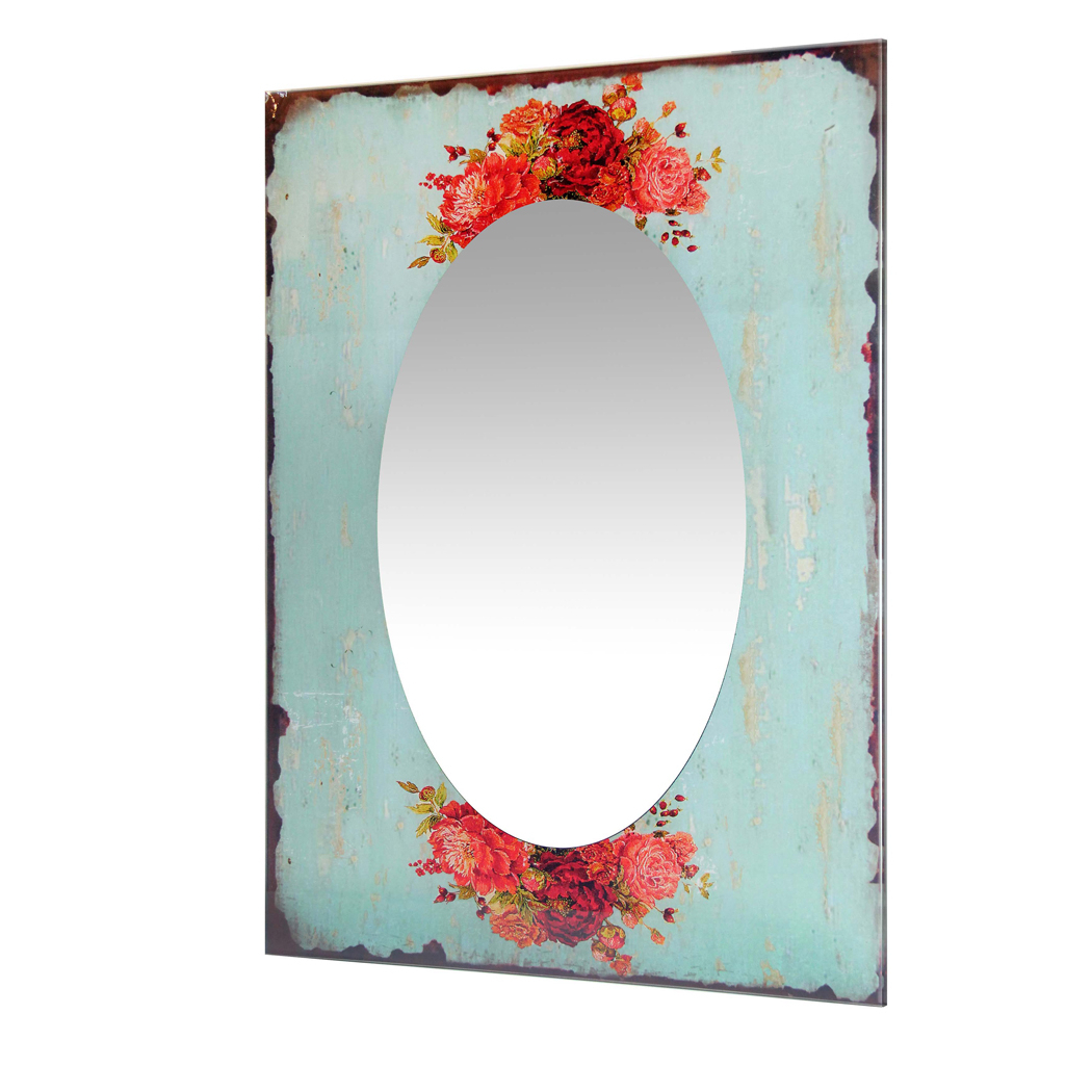 Most Recent Shabby Chic Large Wall Mirrors In Shabby Chic – Country Garden Wall Mirror (View 17 of 20)