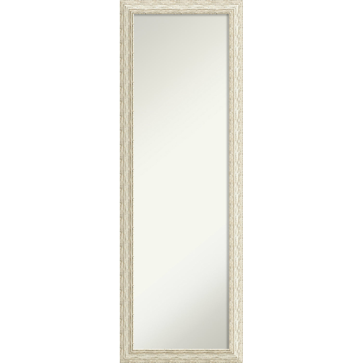 Most Recent Shop On The Door Full Length Wall Mirror, Cape Cod White Wash 18 X In Cheap Full Length Wall Mirrors (View 9 of 20)