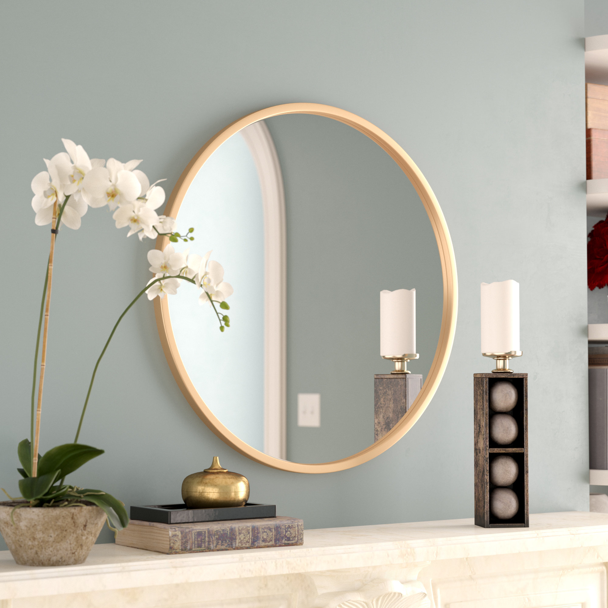 Most Recent Swagger Accent Wall Mirrors With Yucheng Accent Mirror (View 11 of 20)