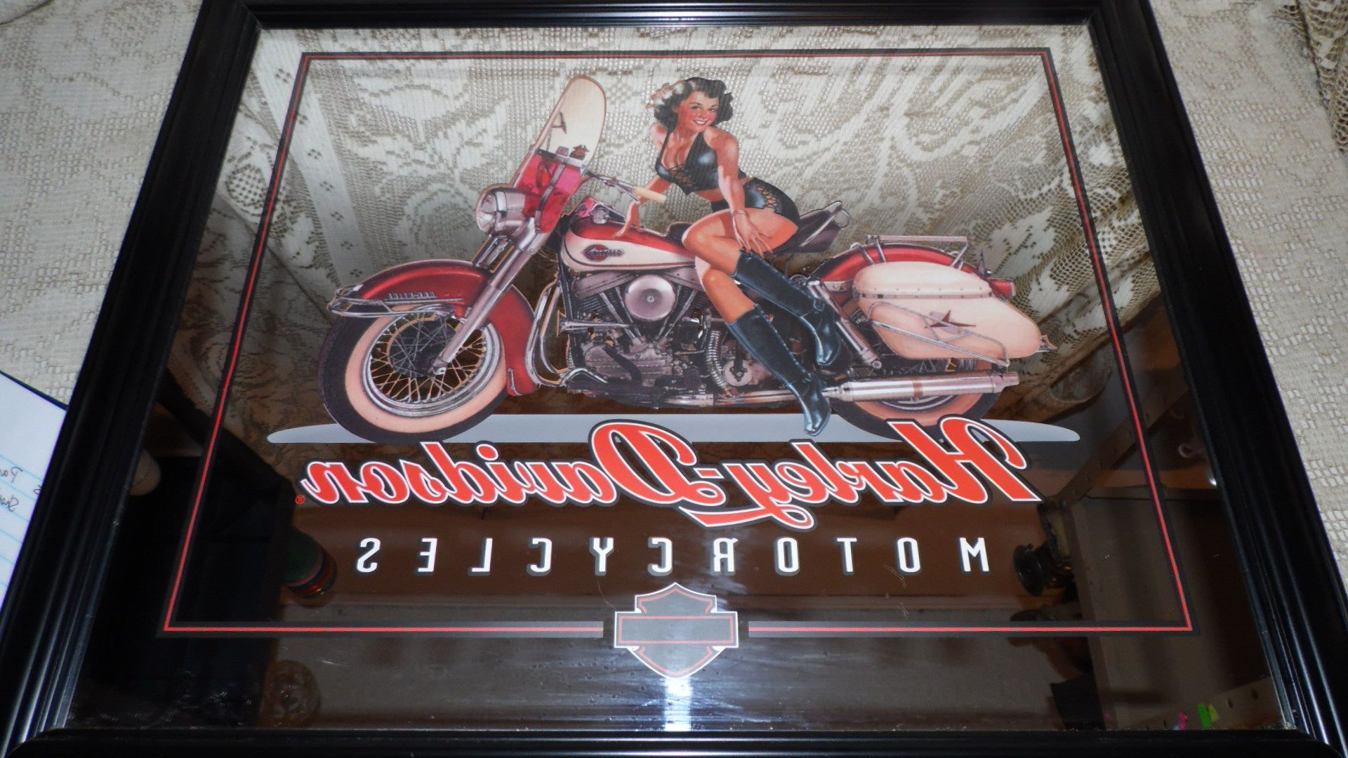 Featured Photo of Harley Davidson Wall Mirrors