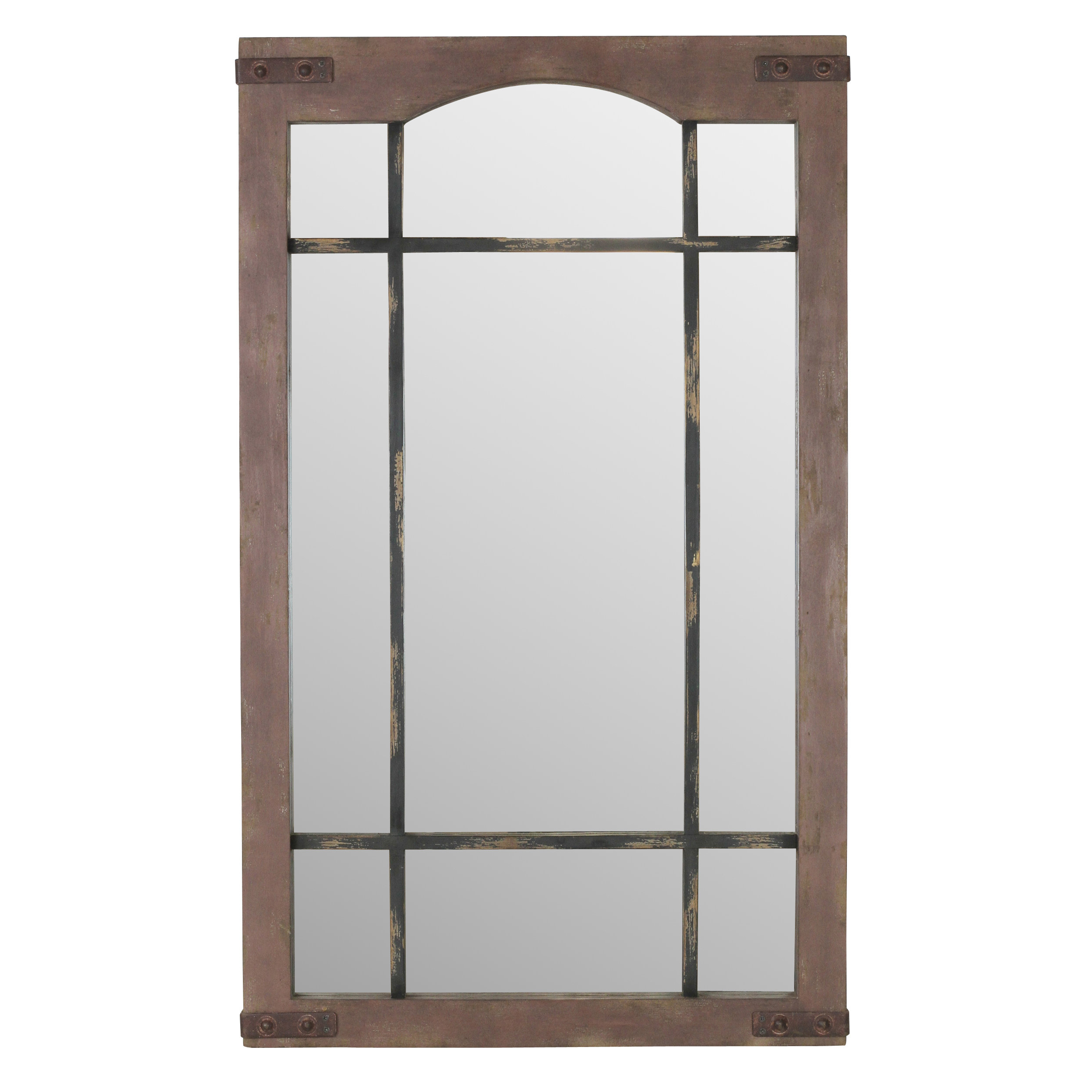 Most Recent Window Wall Mirrors For Ethelinde Window Wall Mirror (View 12 of 20)