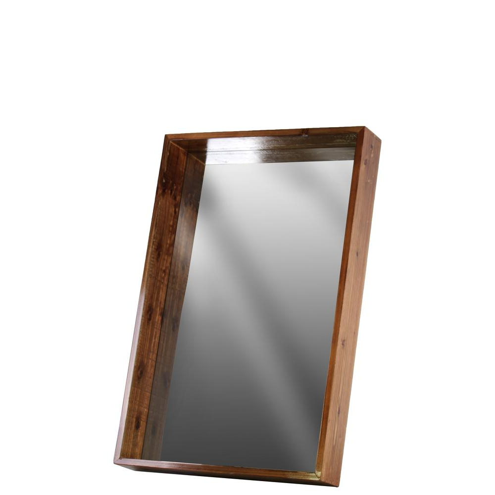 Most Recent Wood Wall Mirrors Reclaimed Wood Thompson Accent Mirror Birch Lane Throughout Booth Reclaimed Wall Mirrors Accent (View 18 of 20)