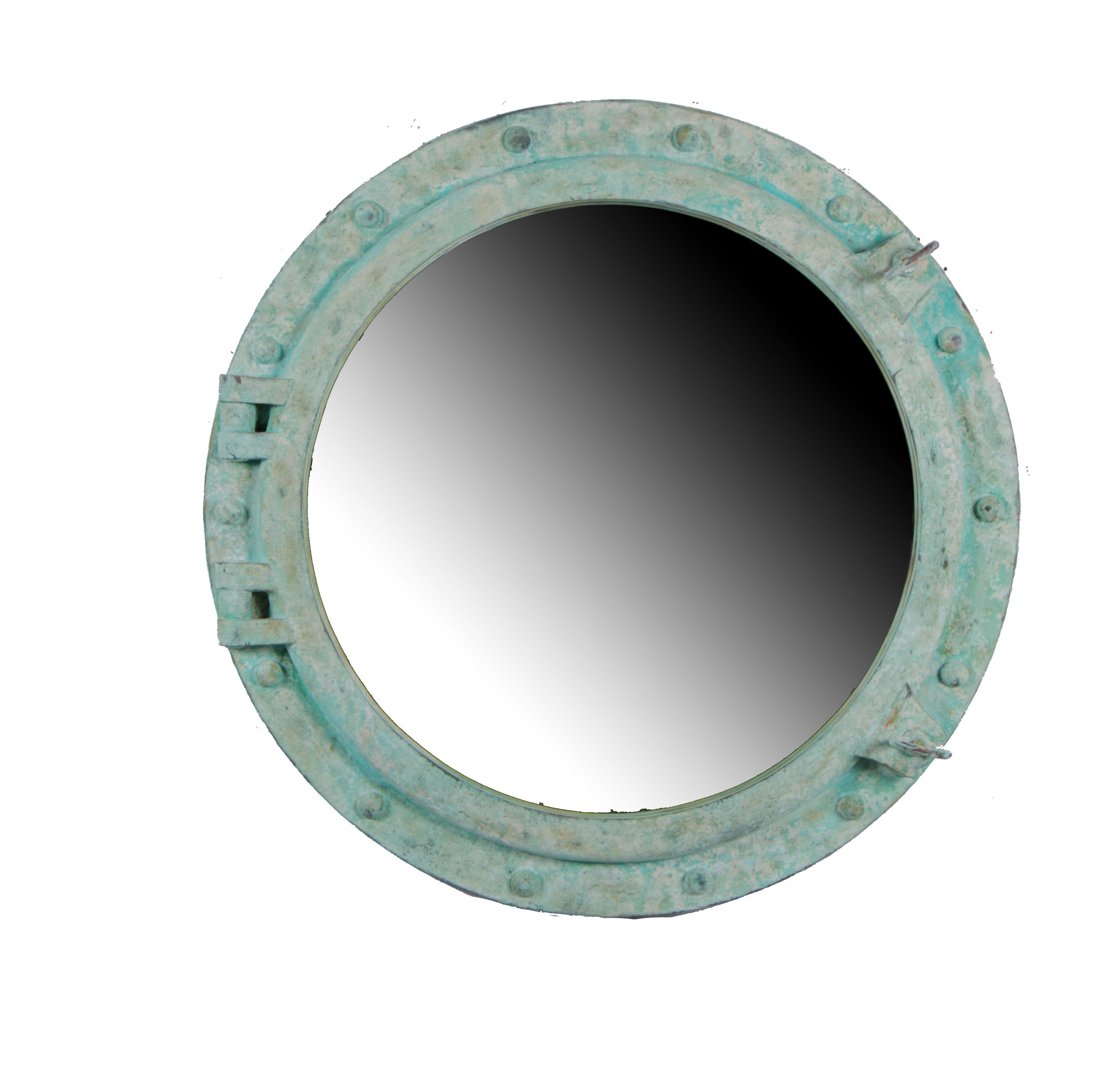 """Most Recently Released 36""""dia Shipwreck Finish Wall Mount Porthole Mirror – $ (View 16 of 20)"""