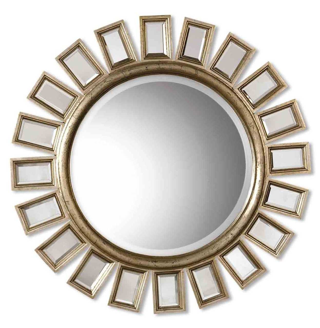 Most Recently Released Amazon: Extra Large Mirrored Sunburst Wall Mirror (View 19 of 20)