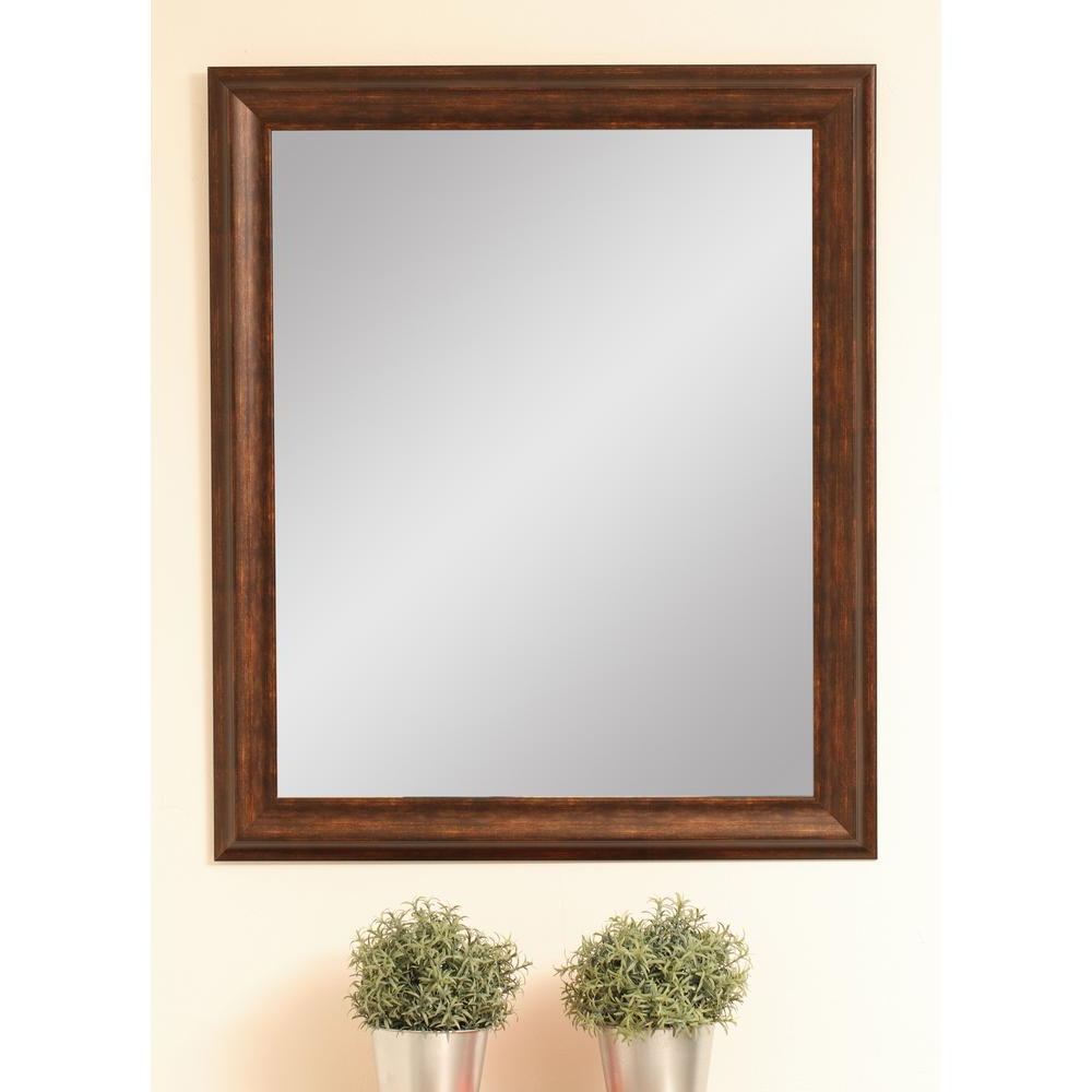 Most Recently Released Brandtworks Classic Wood Grain Decorative Wall Mirror With Classic Wall Mirrors (View 9 of 20)