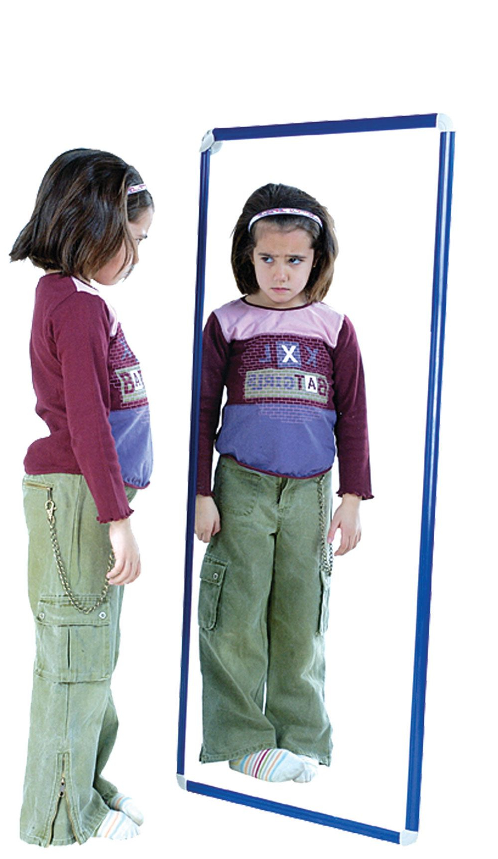 Most Recently Released Children Wall Mirrors Throughout Childrens Wall Mounted Unbreakable Mirror,round Visual Perception (View 14 of 20)
