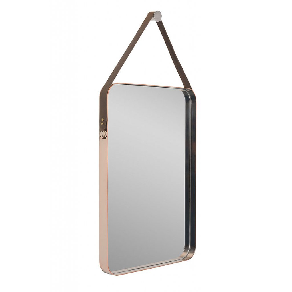 Most Recently Released Copper Wall Mirrors Pertaining To Beron Wall Mirror Copper (View 9 of 20)