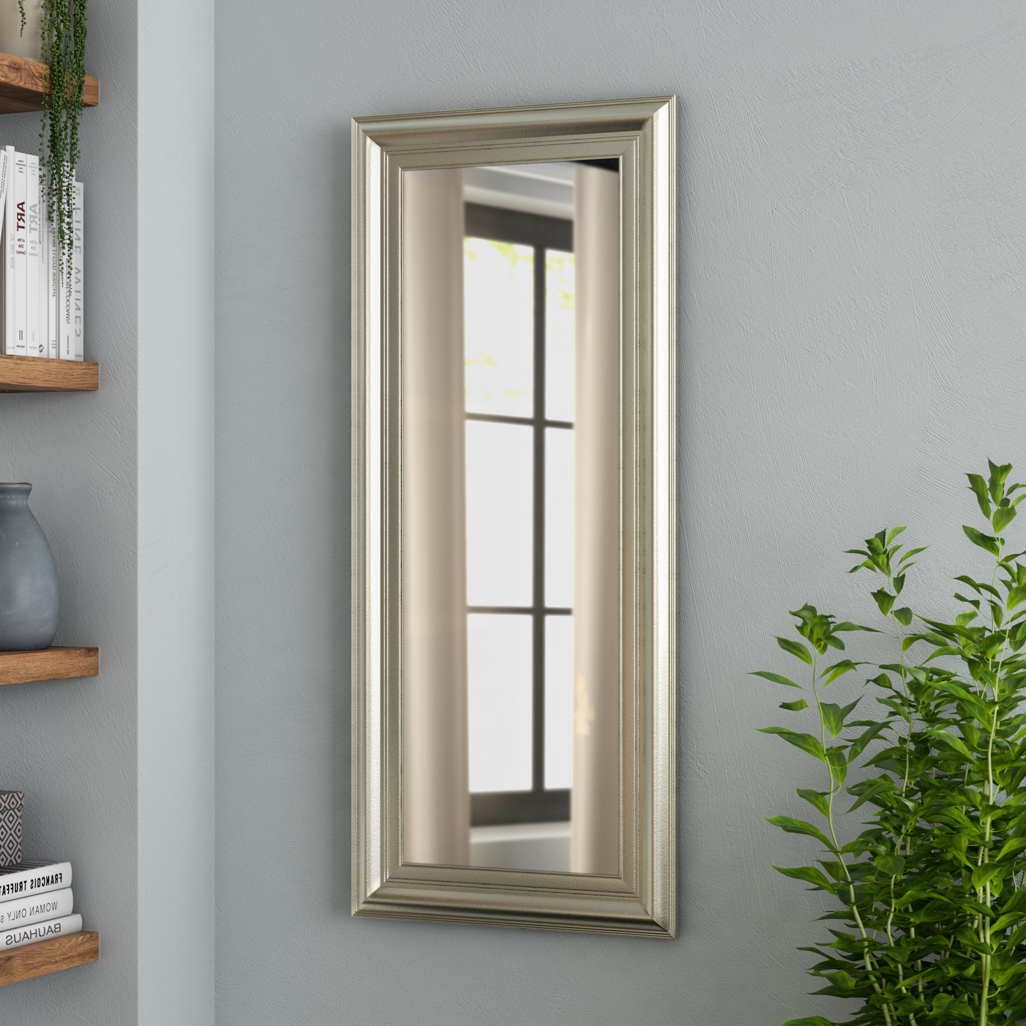 Most Recently Released Dedrick Decorative Framed Modern And Contemporary Wall Mirror Regarding Dedrick Decorative Framed Modern And Contemporary Wall Mirrors (View 15 of 20)