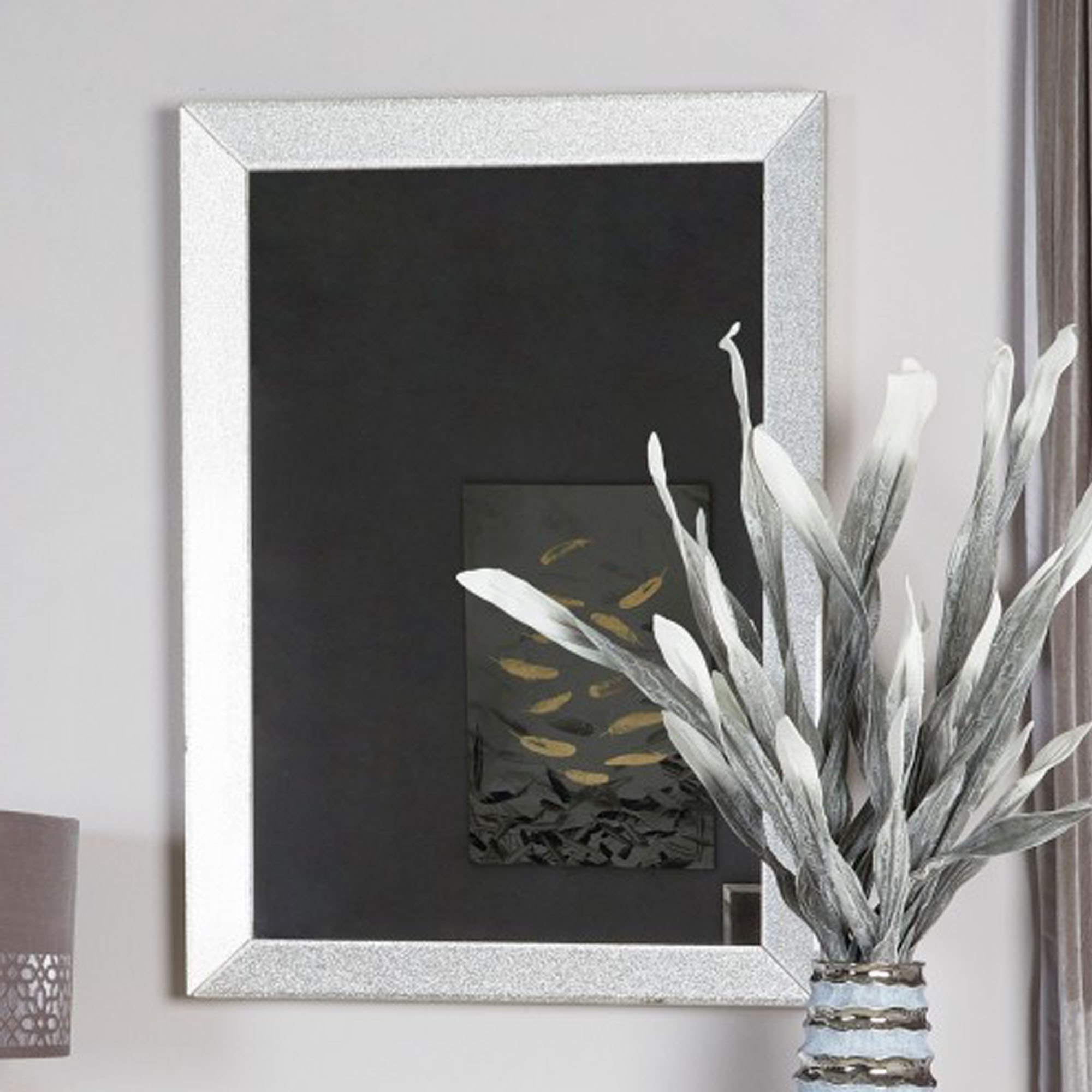 Most Recently Released Glitter Wall Mirrors In Champagne Sparkle Wall Mirror (View 20 of 20)
