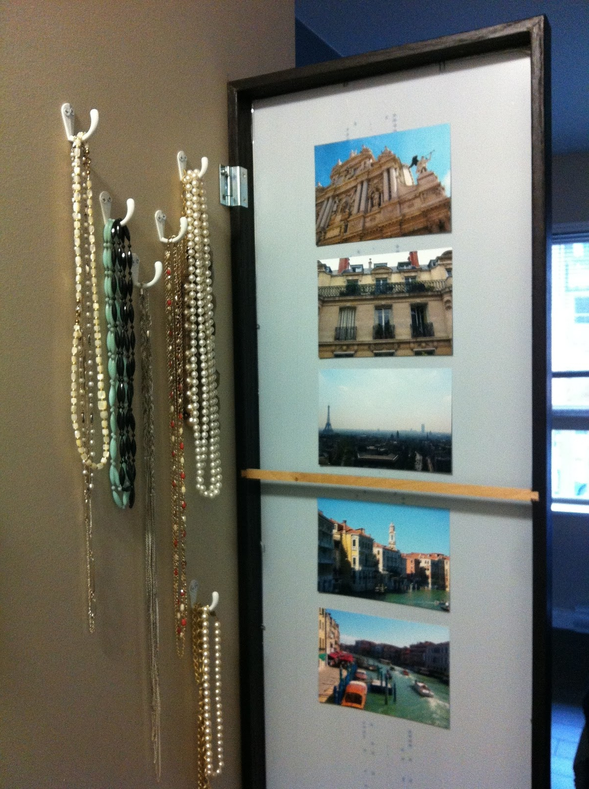 Most Recently Released Hinged Wall Mirrors Regarding How To: Store Your Necklaces – Adventures Of A Modern Mama (View 9 of 20)
