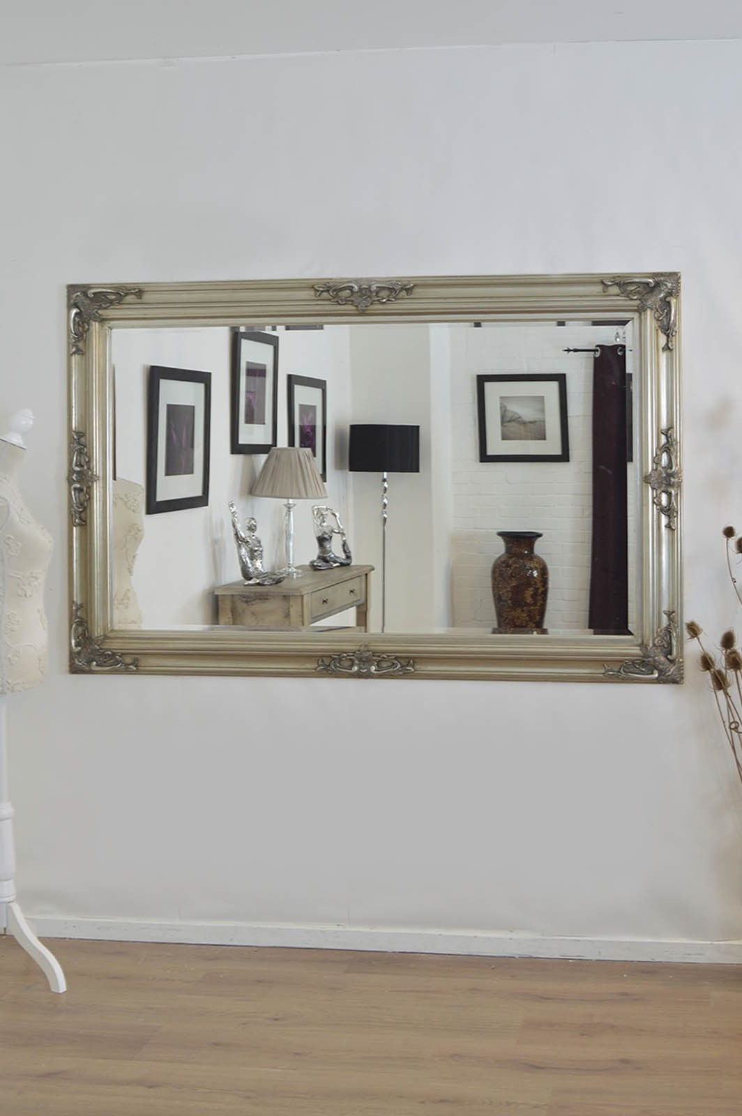 Most Recently Released Horizontal Wall Mirrors Regarding 4 Surprising Diy Ideas: Small Wall Mirror Couch Wall Mirror Art (View 13 of 20)