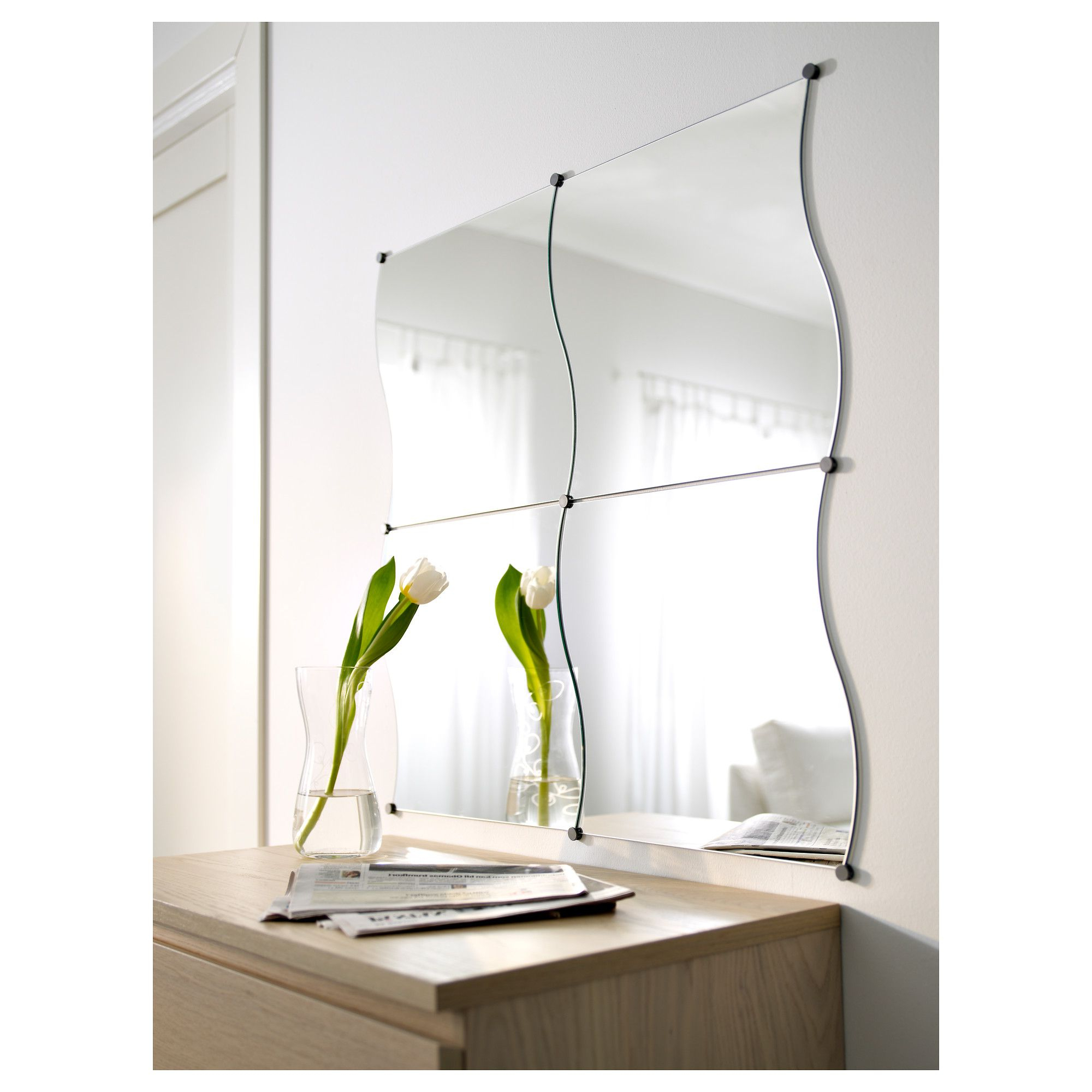 Most Recently Released Ikea Long Wall Mirrors Within Krabb Mirror – Ikea (View 4 of 20)