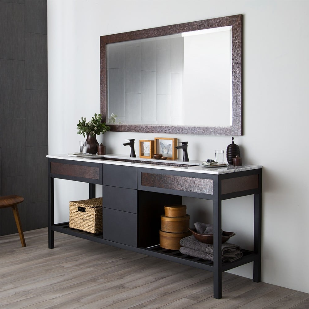 Most Recently Released Large Rectangular Wall Mirrors In Milano Mirror (View 16 of 20)