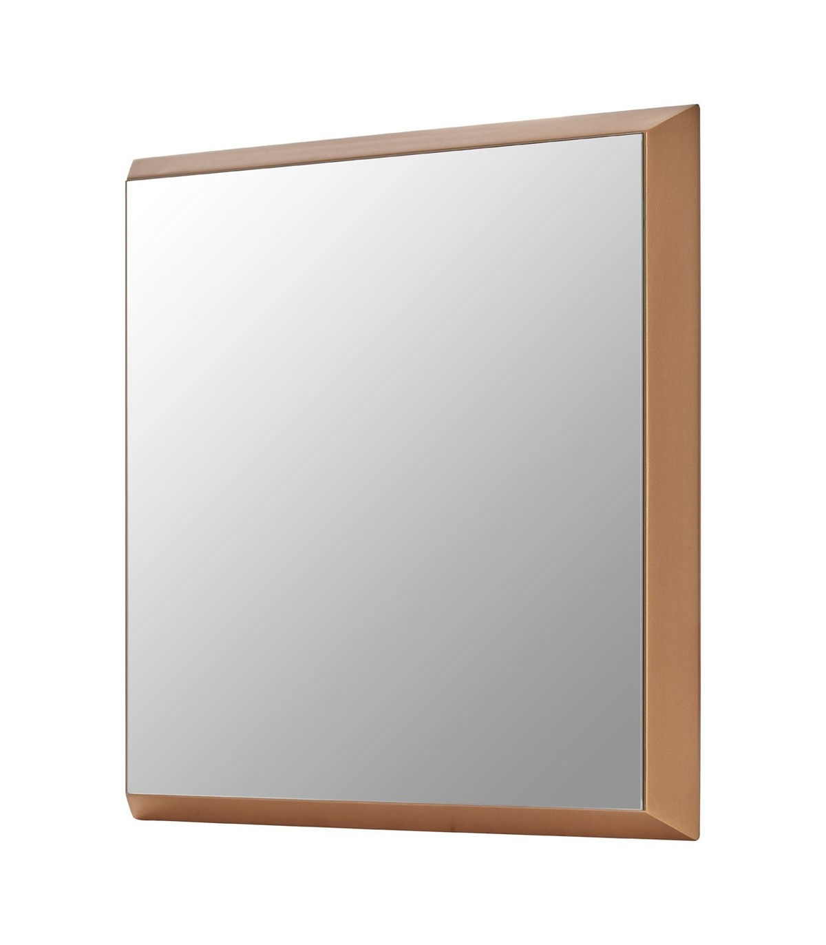 Most Recently Released Large Square Gold Finish Wall Mirror For Large Square Wall Mirrors (View 14 of 20)