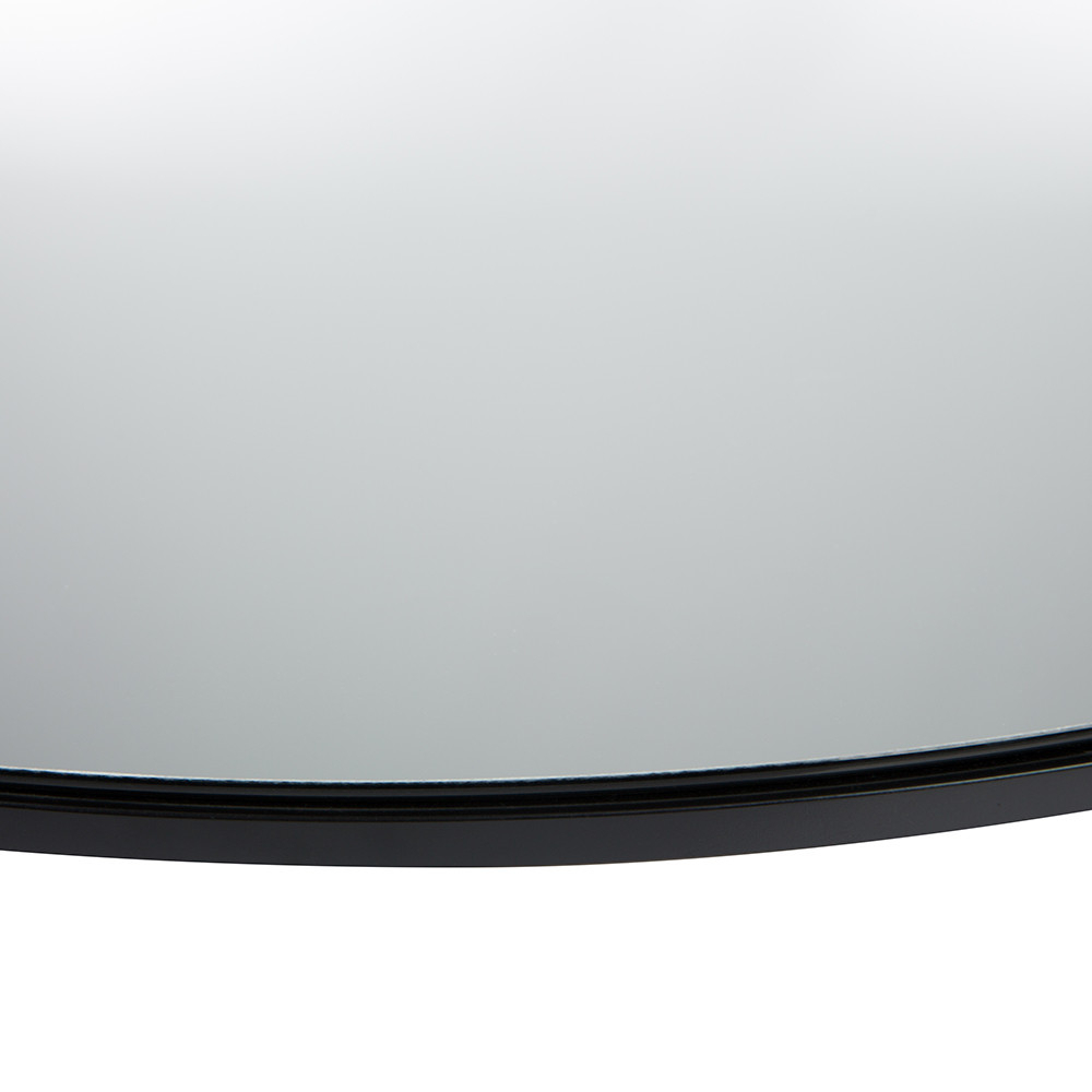 Most Recently Released Large Wall Mirror – Round – Clear Pertaining To Round Black Wall Mirrors (View 18 of 20)
