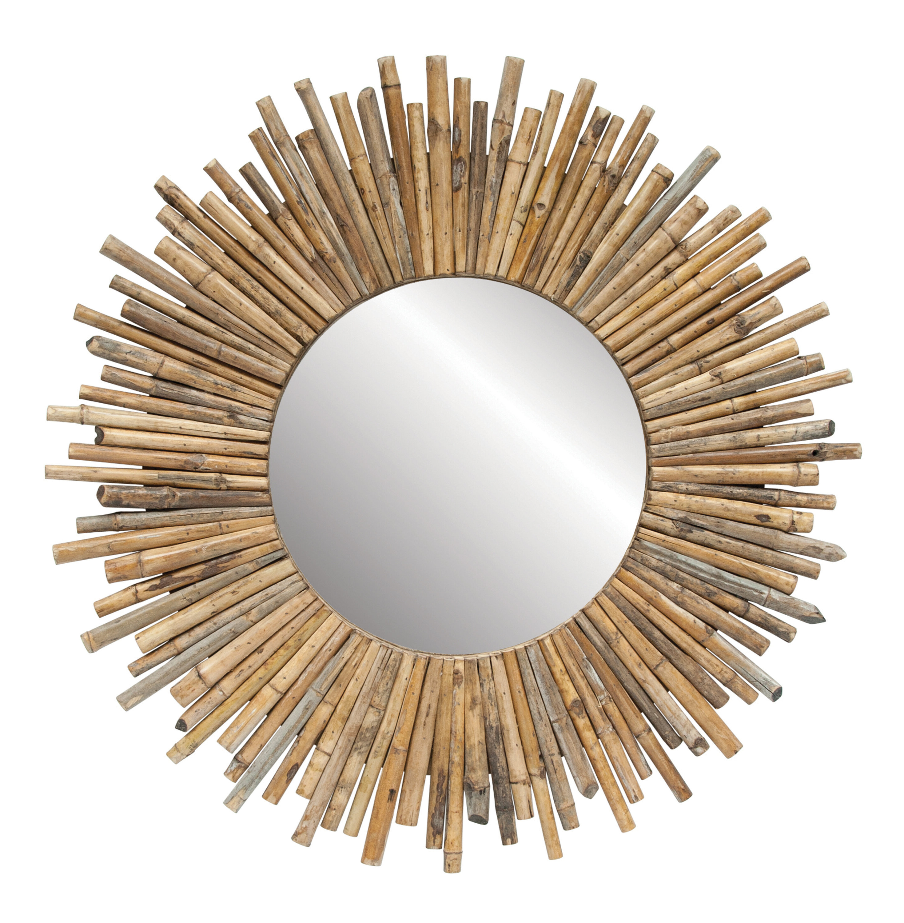Most Recently Released Madilynn Eclectic Accent Mirror Regarding Josephson Starburst Glam Beveled Accent Wall Mirrors (View 19 of 20)