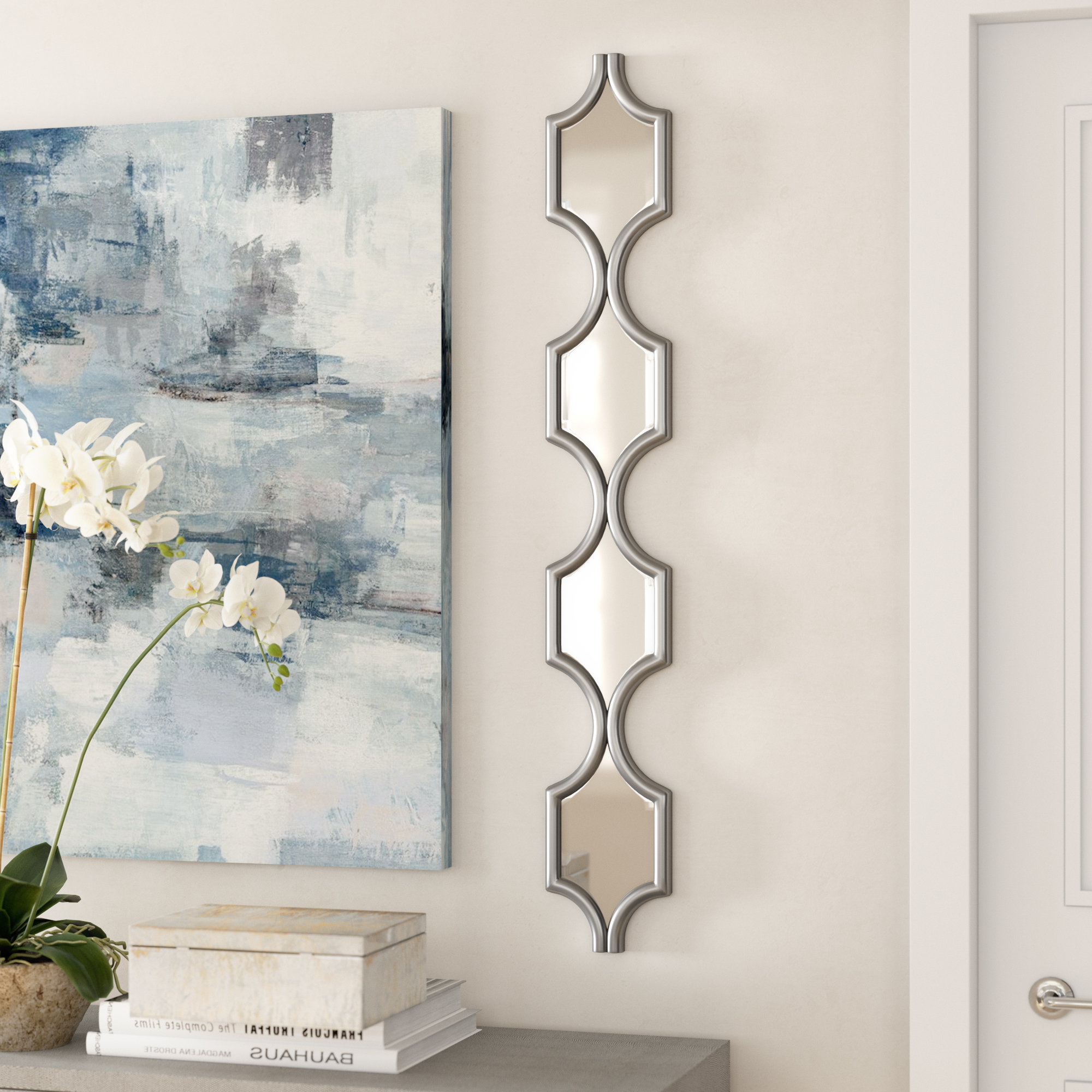 Most Recently Released Metal Framed Wall Mirrors For Vertical Metal Frame Wall Mirror (Gallery 17 of 20)