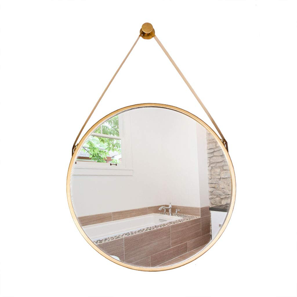 Most Recently Released Modern Decorative Wall Mirrors Inside Amazon: Wall Mounted Round Mirror With Hanging Rope (View 15 of 20)
