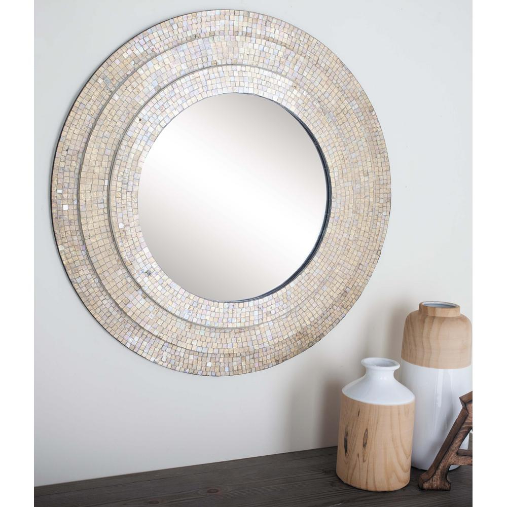Most Recently Released Mosaic Framed Wall Mirrors Inside 30 In (View 14 of 20)