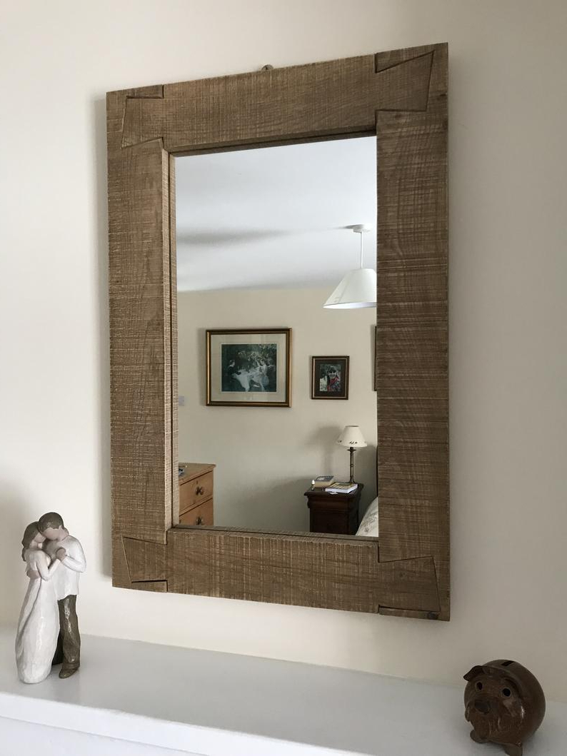 Most Recently Released Oak Framed Wall Mirrors In Oak Framed Wall Mirror (View 12 of 20)